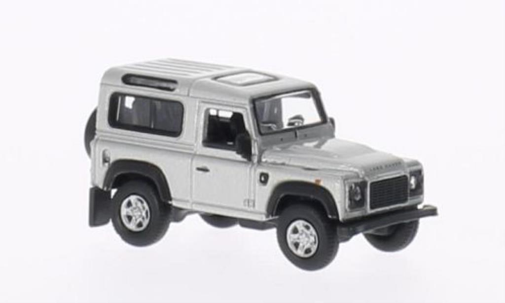 land rover defender gray welly diecast model car 1 87. Black Bedroom Furniture Sets. Home Design Ideas