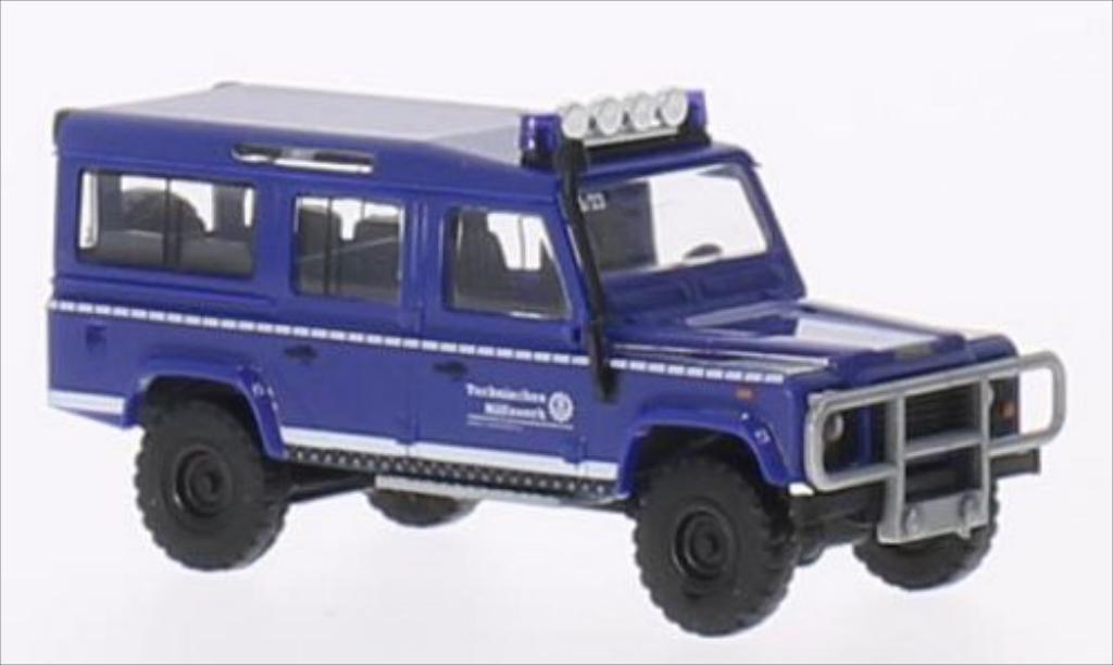 Land Rover Defender 1/87 Busch THW 1983 miniature