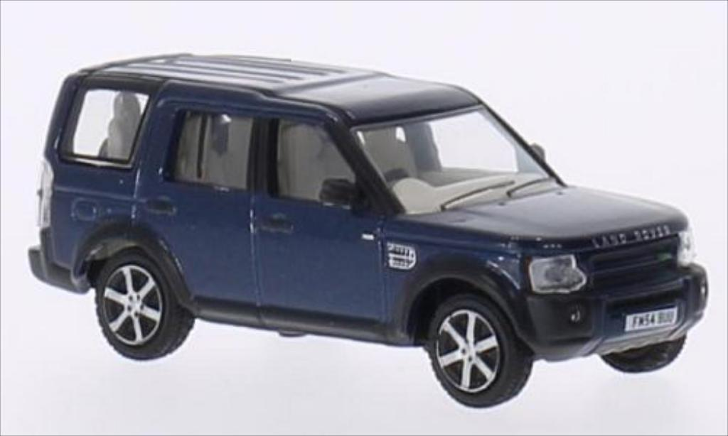 Land Rover Discovery 1/76 Oxford 3 metallise bleu RHD miniature