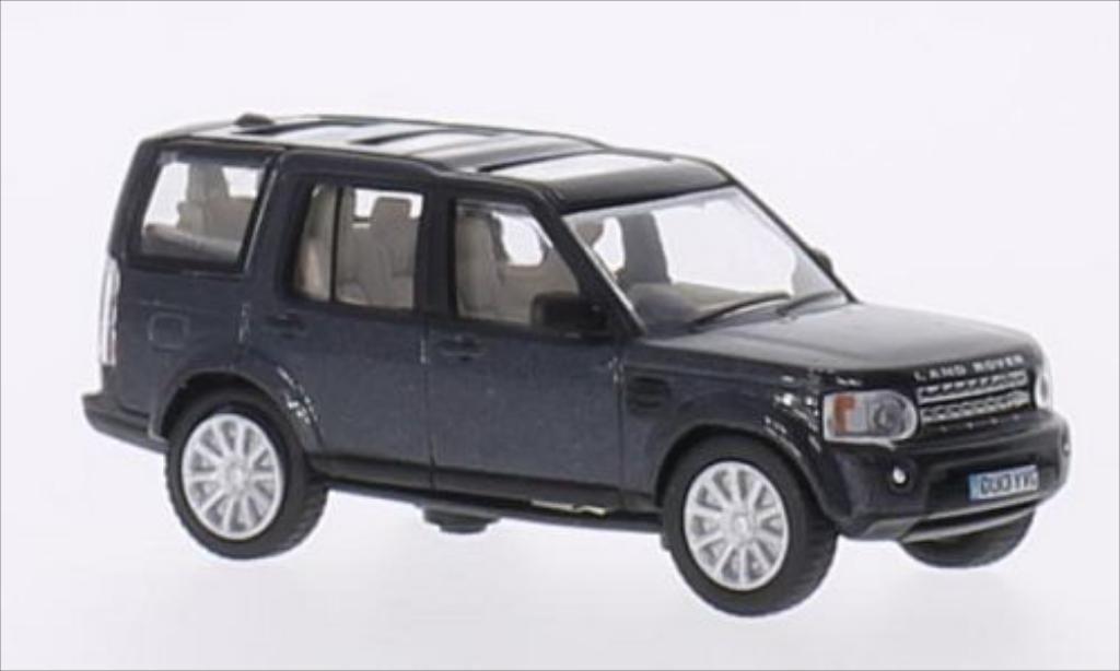 Land Rover Discovery 1/76 Oxford 4 metallise bleu RHD miniature