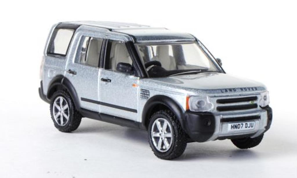 Land Rover Discovery 1/76 Oxford grisegrise RHD miniature