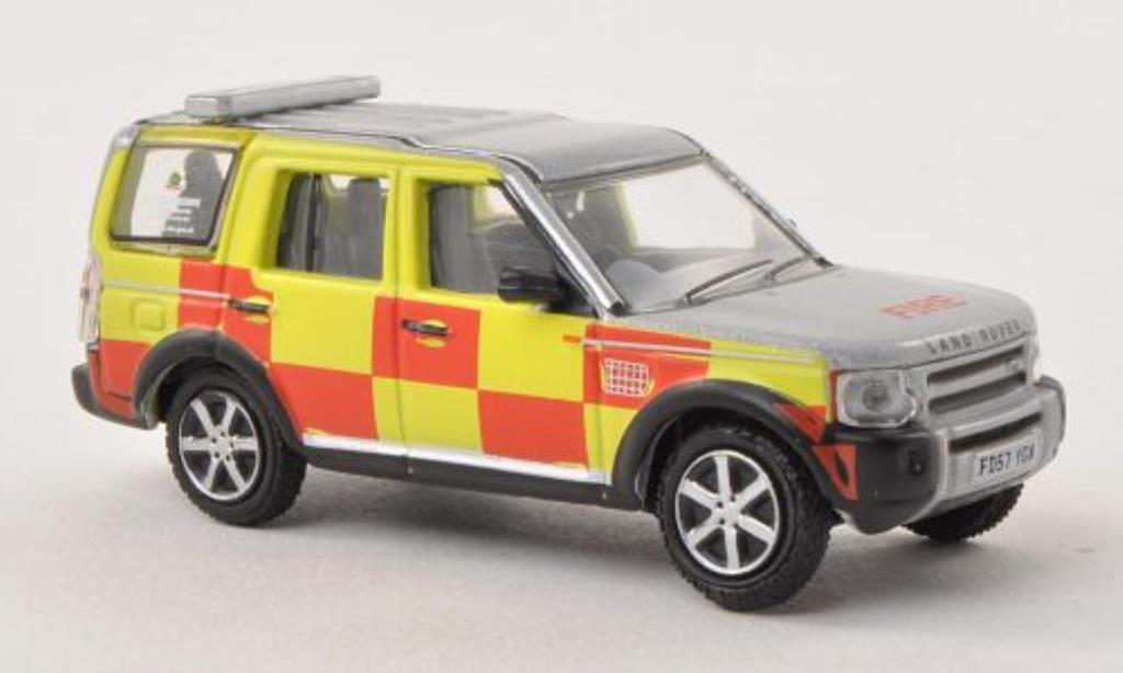 Land Rover Discovery 1/76 Oxford Nottinghamshire Fire and Rescue Feuerwehr (GB) miniature