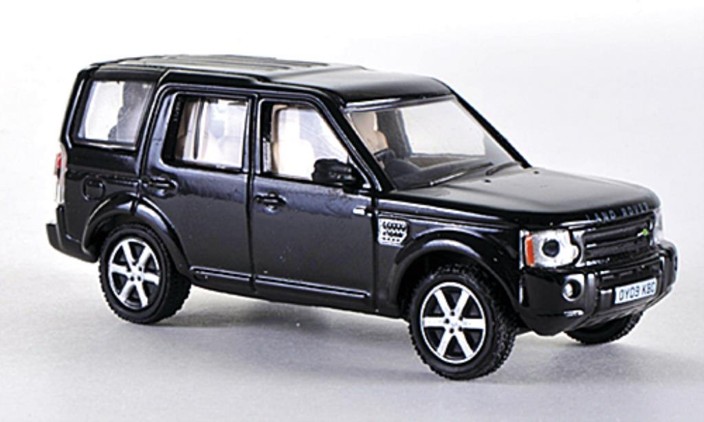Land Rover Discovery 1/76 Oxford noire RHD miniature