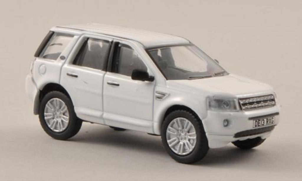 Land Rover Freelander 1/76 Oxford 2 blanche miniature