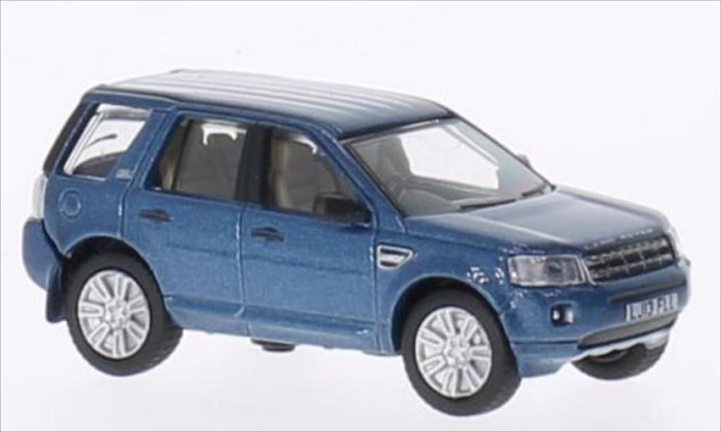 Land Rover Freelander 1/76 Oxford metallic-bleu RHD miniature