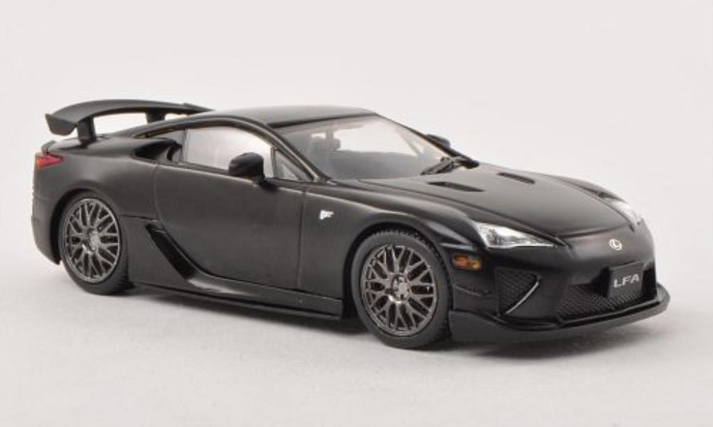 lexus lfa nurburgring package matt schwarz rhd 2011 mcw modellauto 1 43 kaufen verkauf. Black Bedroom Furniture Sets. Home Design Ideas