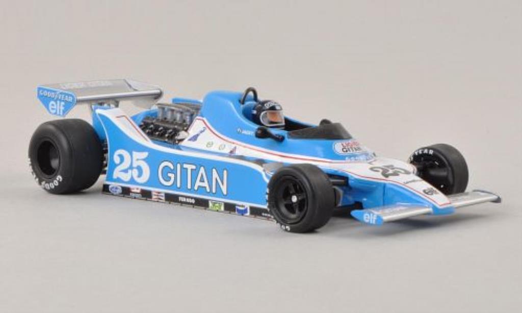Ligier JS11 1/43 Spark No.25 Gitanes GP Niederlande 1979 miniature