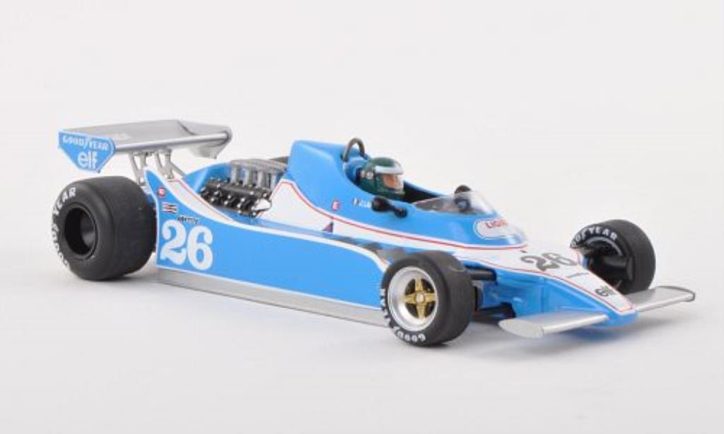 Ligier JS11 1/43 Spark No.26 Gitanes GP Argentinien 1979 miniature