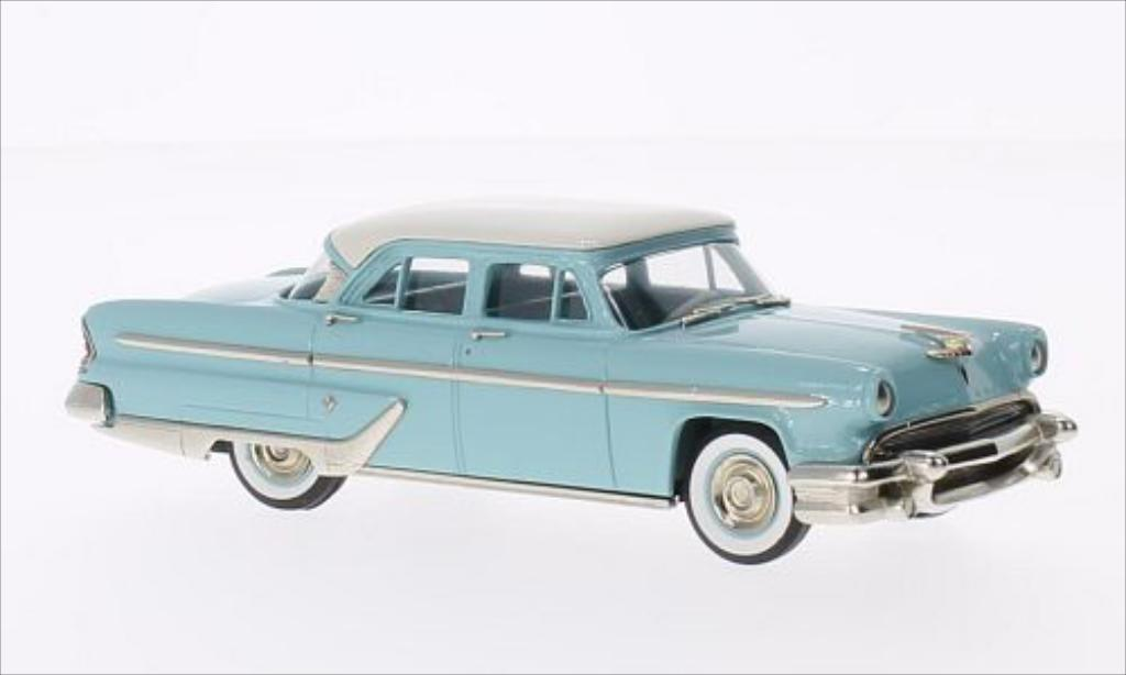 lincoln capri 4 door sedan turkis weiss 1955 brooklin modellauto 1 43 kaufen verkauf. Black Bedroom Furniture Sets. Home Design Ideas
