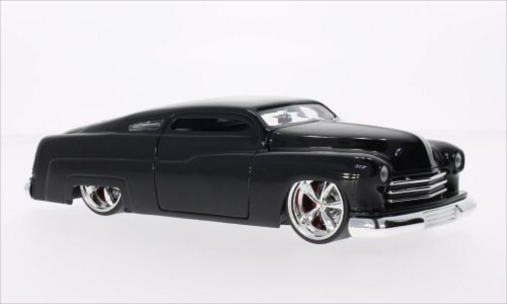 Lincoln Mercury 1/24 Jada Toys Toys Tuning noire 1951 miniature