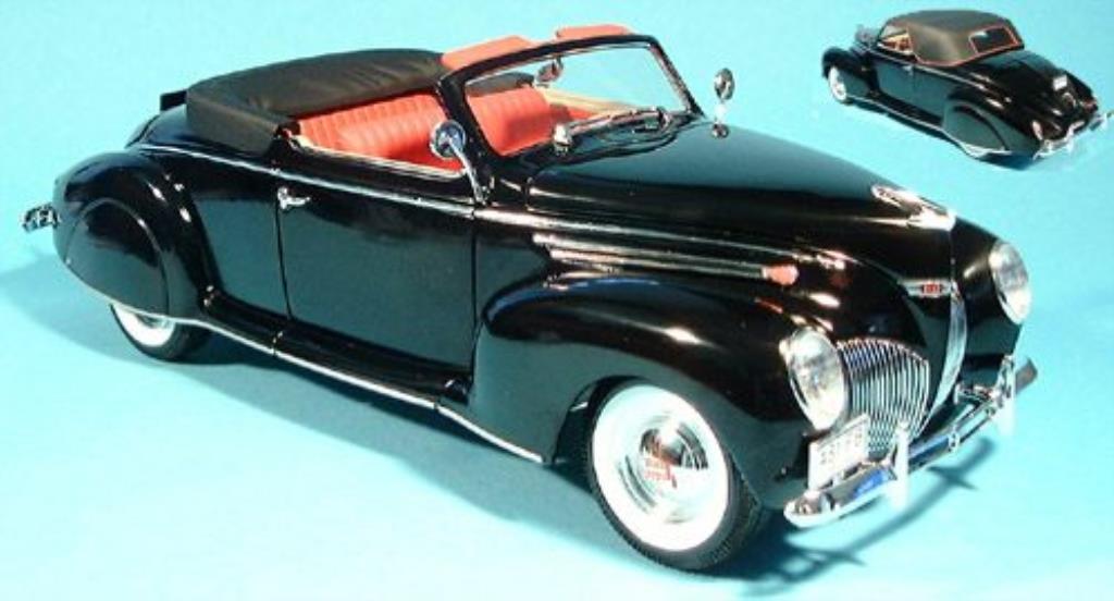 Lincoln Zephyr 1/18 Signature noire 1939 miniature