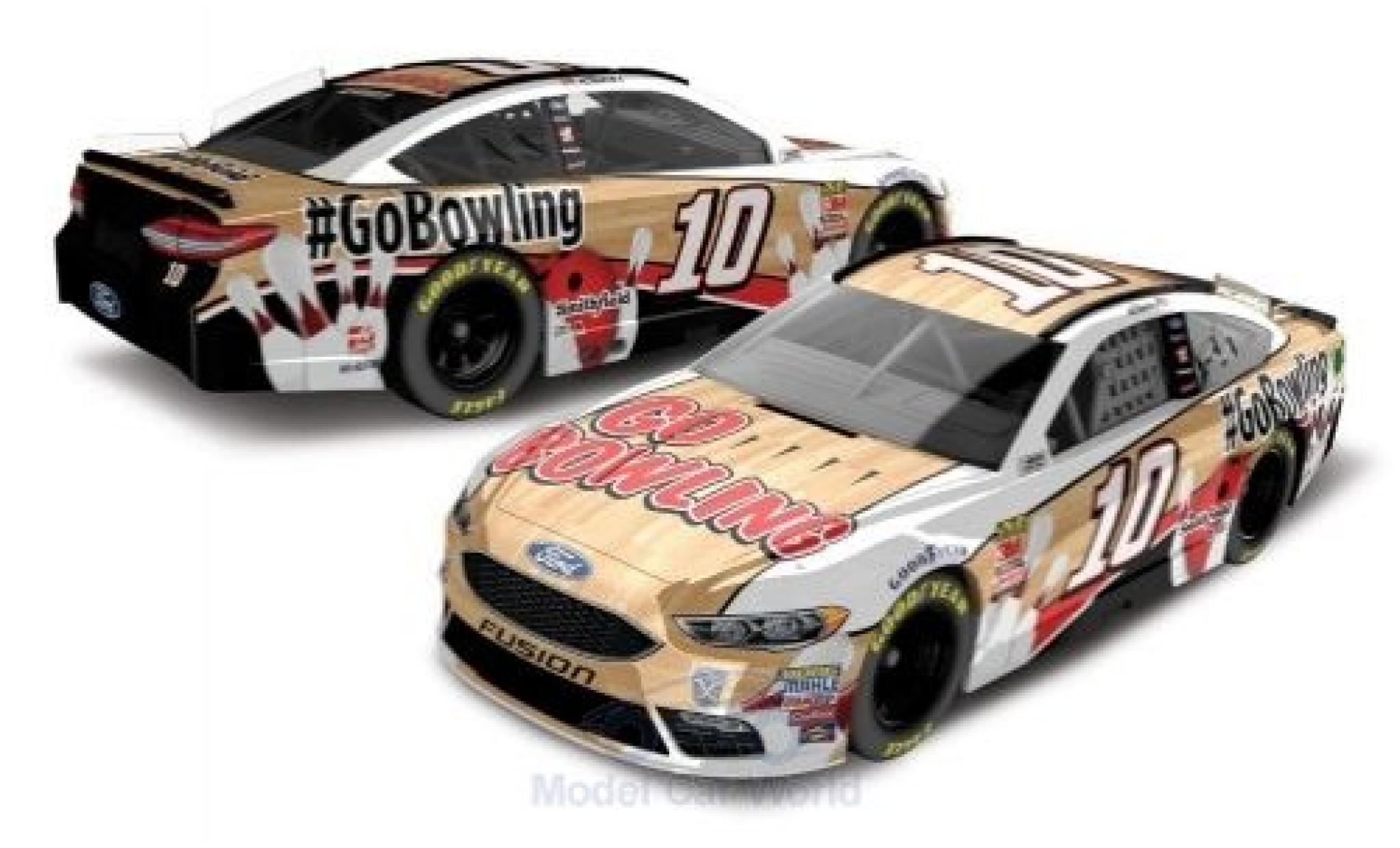 Ford Fusion 1/64 Lionel Racing No.10 Stewart-Haas Racing GoBowling Nascar 2018 A.Almirola