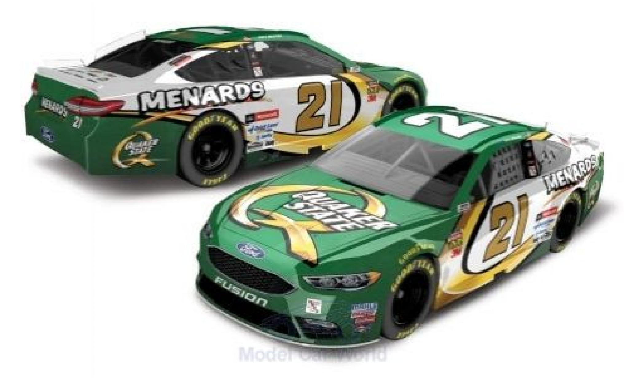 Ford Fusion 1/64 Lionel Racing No.21 21 Wood Brougehers Quaker State Nascar 2018 P.Menard