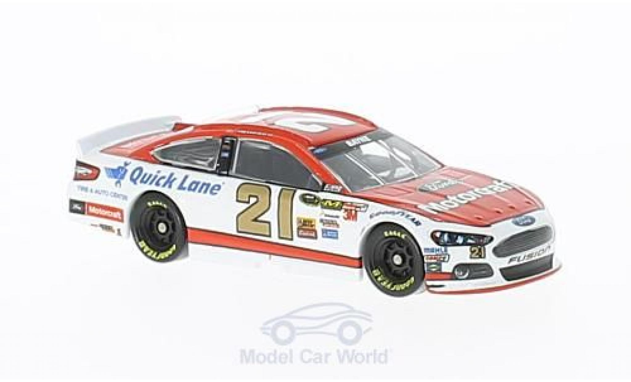 Ford Fusion 1/64 Lionel Racing No.21 wood 21brougehers Motorcraft Nascar 2014 T.Bayne