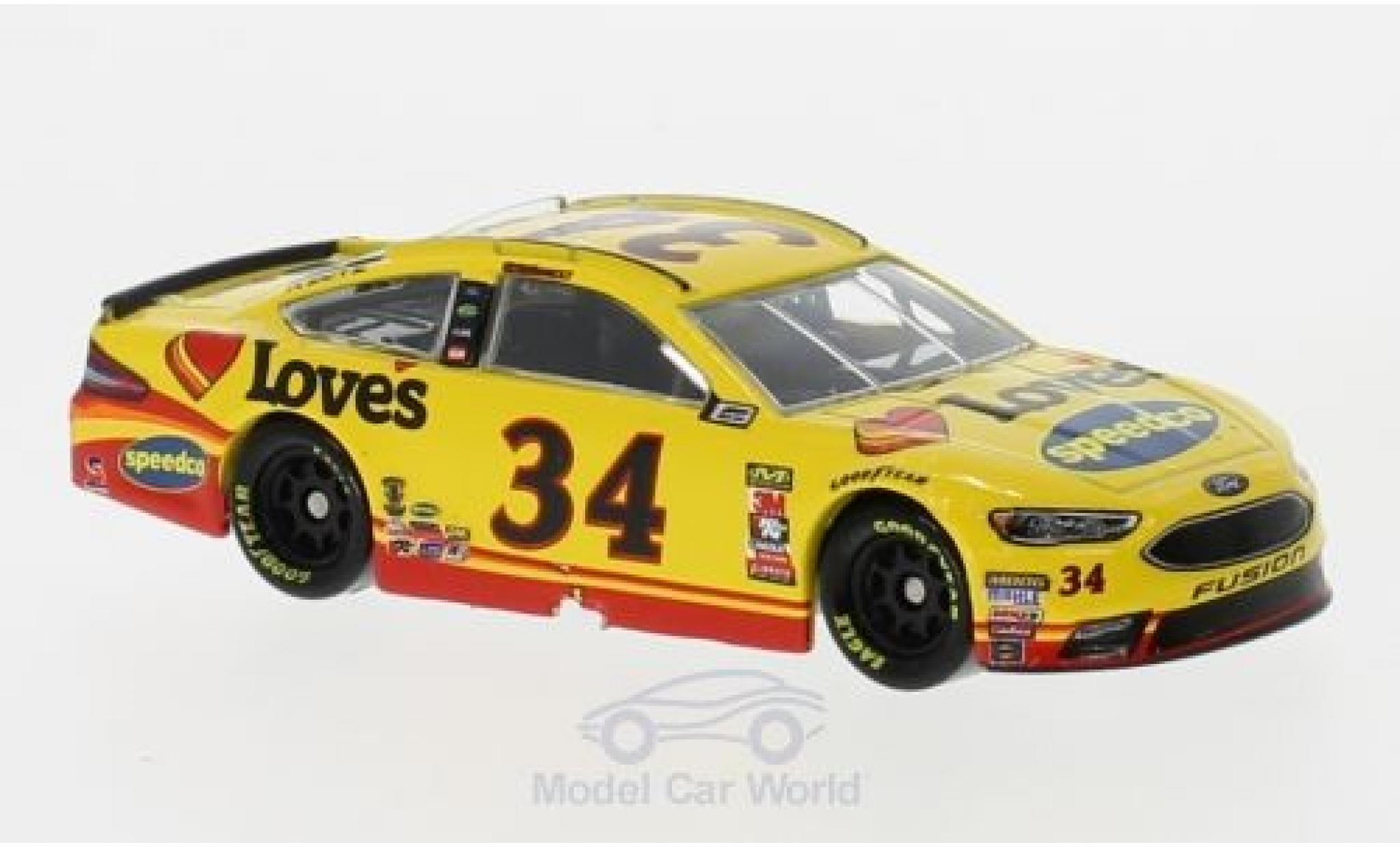 Ford Fusion 1/64 Lionel Racing No.34 FrontRow Motorsports Loves Nascar 2018 M.McDowell