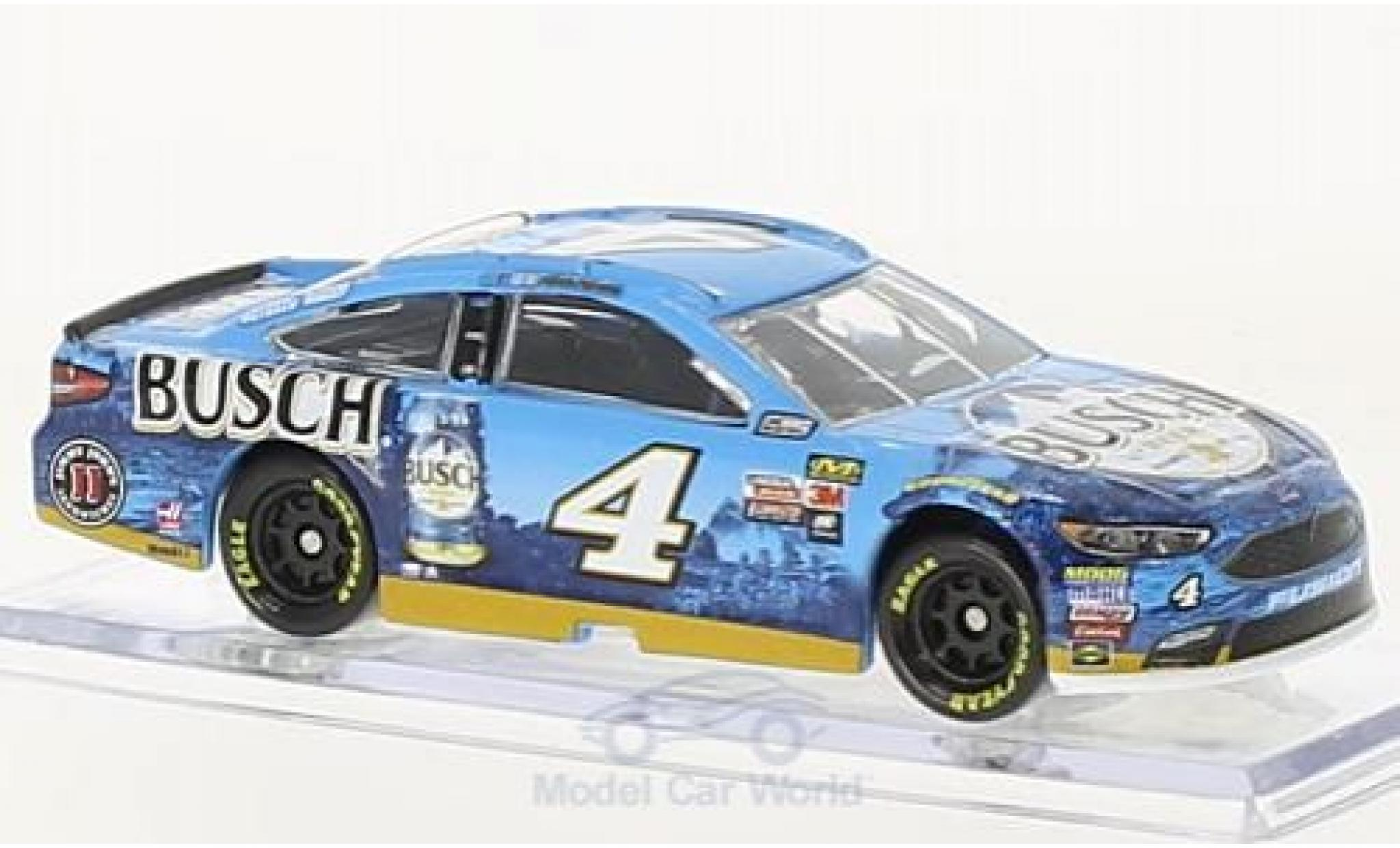 Ford Fusion 1/64 Lionel Racing No.4 Stewart-Haas Racing Busch Beer Nascar 2018 K.Harvick ohne Vitrine