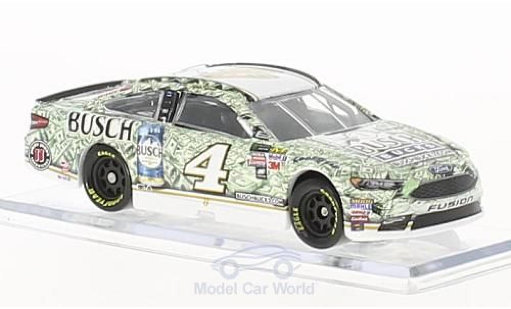 Ford Fusion 1/64 Lionel Racing No.4 Stewart-Haas Racing Busch Bucks Nascar 2017 K.Harvick