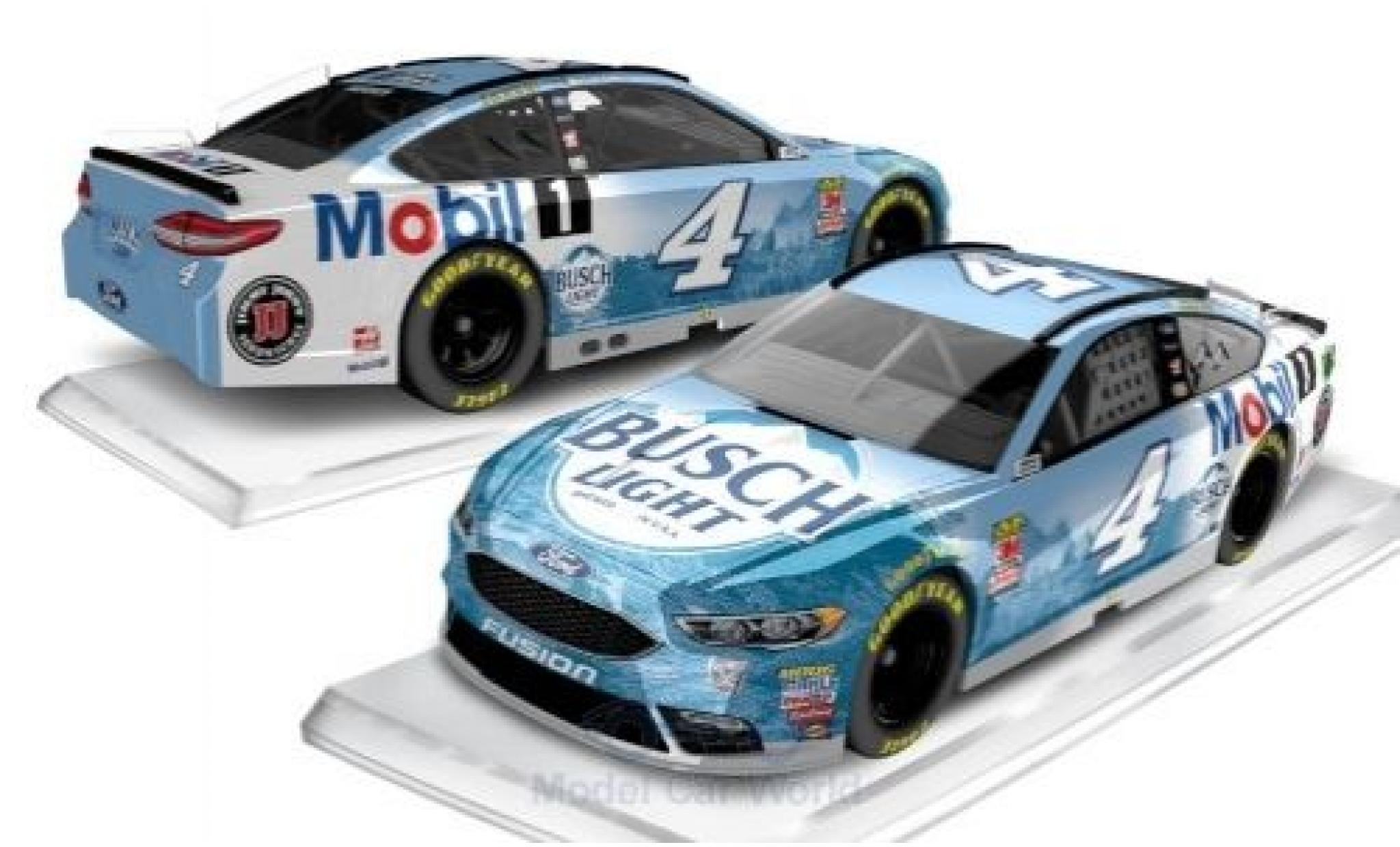 Ford Fusion 1/64 Lionel Racing No.4 Stewart-Haas Racing Busch Light Nascar 2018 K.Harvick