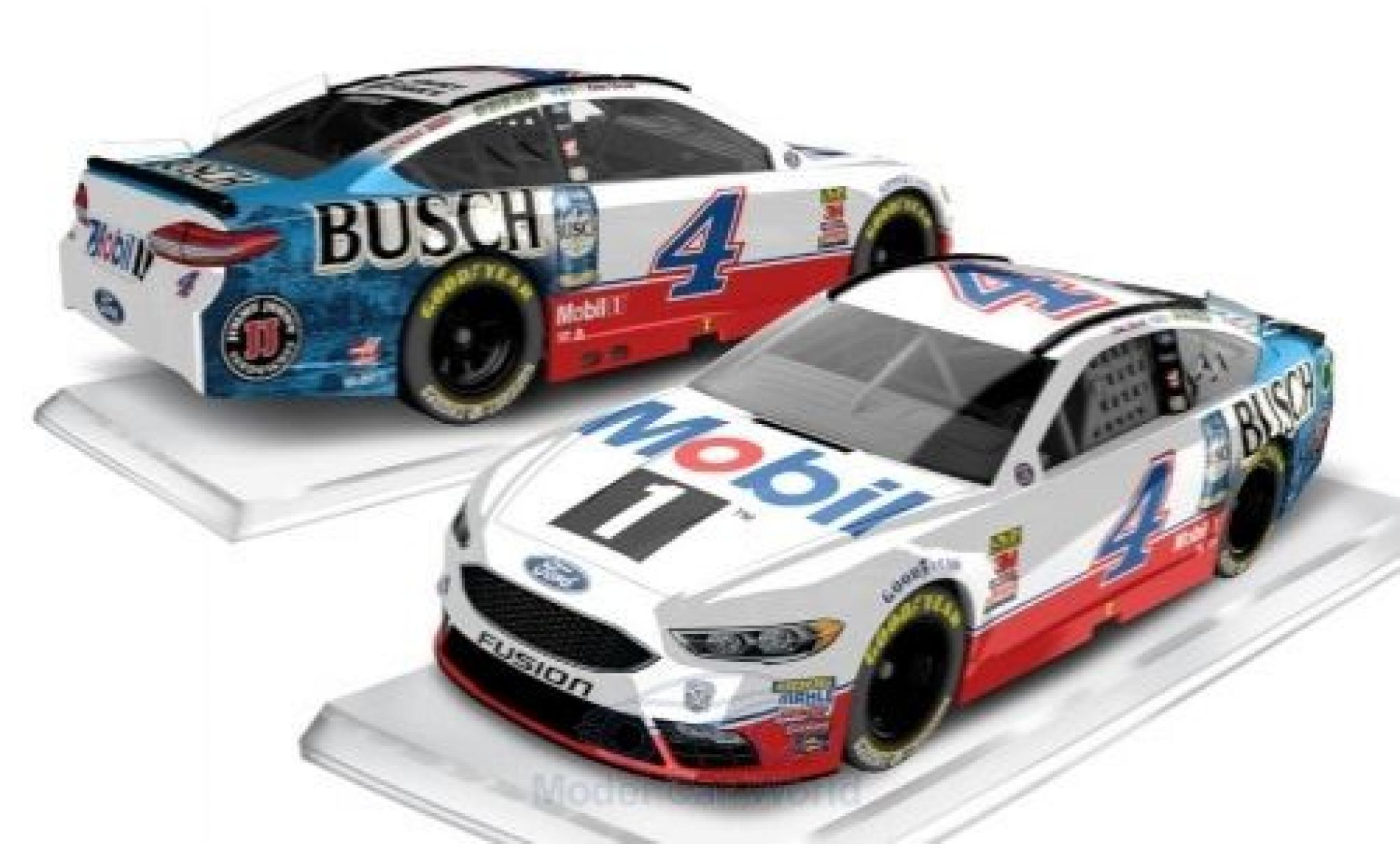 Ford Fusion 1/64 Lionel Racing No.4 Stewart-Haas Racing Mobil 1 Nascar 2018 K.Harvick