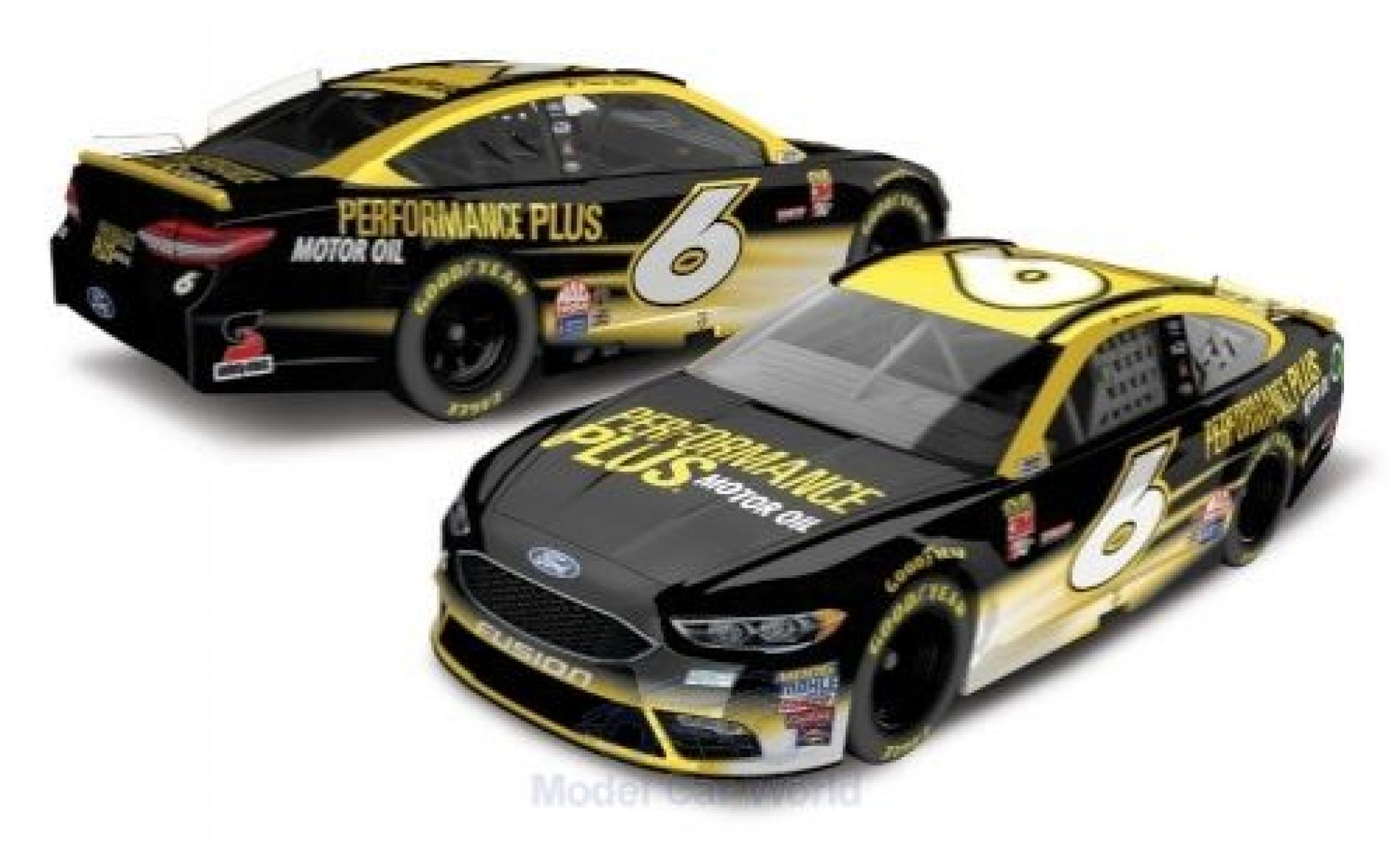 Ford Fusion 1/64 Lionel Racing No.6 Roush Fenway Racing Performance Plus Nascar 2018 T.Bayne