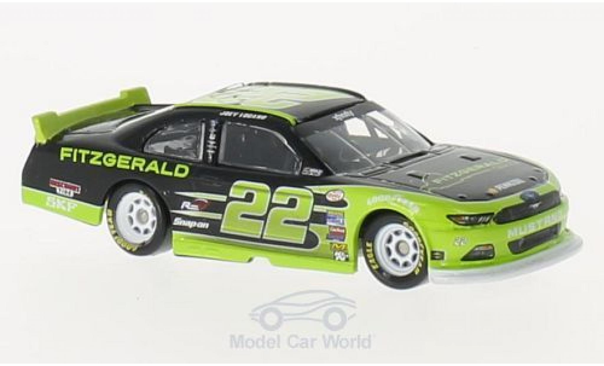 Ford Mustang 1/64 Lionel Racing No.22 Fitzgerald Nascar 2016 J.Logano