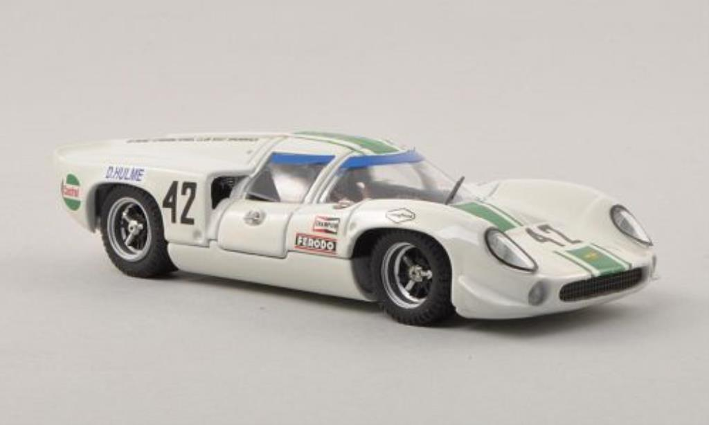 Lola T70 1/43 Best Coupe No.42 Tourist Trophy 1968 miniature