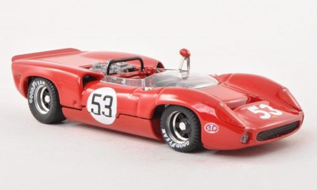 Lola T70 1/43 Best Spider No.53 Laguna Seca 1966 miniature