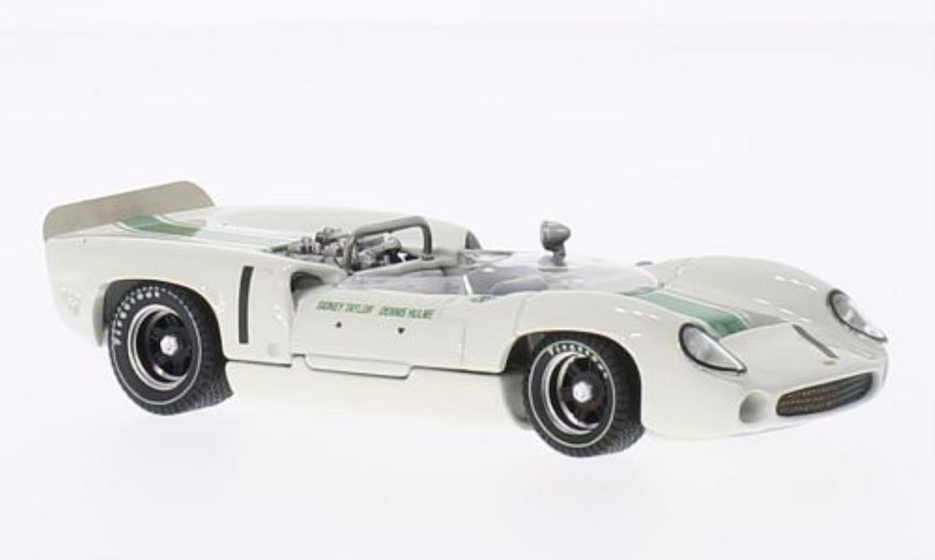 Lola T70 1/43 Best Spyder No.1 Mallory Park 1966 miniature
