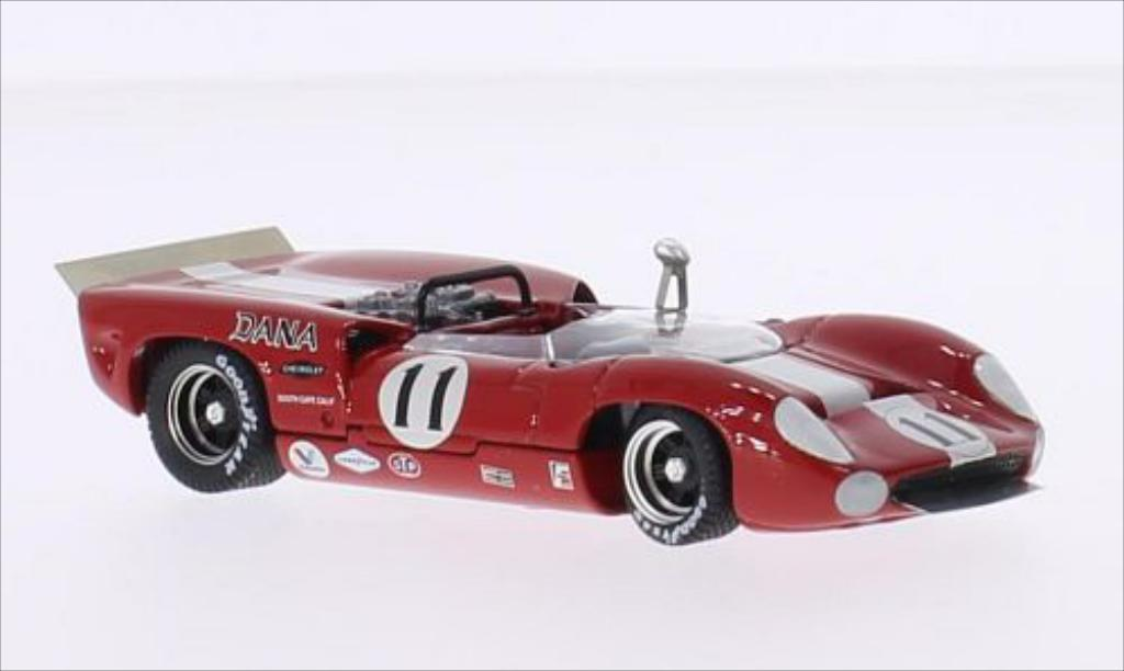Lola T70 1/43 Best Spyder RHD No.11 Bridgehampton 1967 miniature