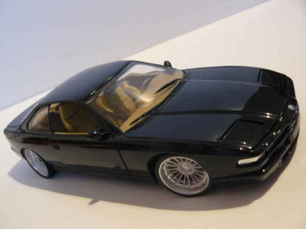 Bmw 850 E31 Csi Black Wheels Alpina Maisto Diecast Model