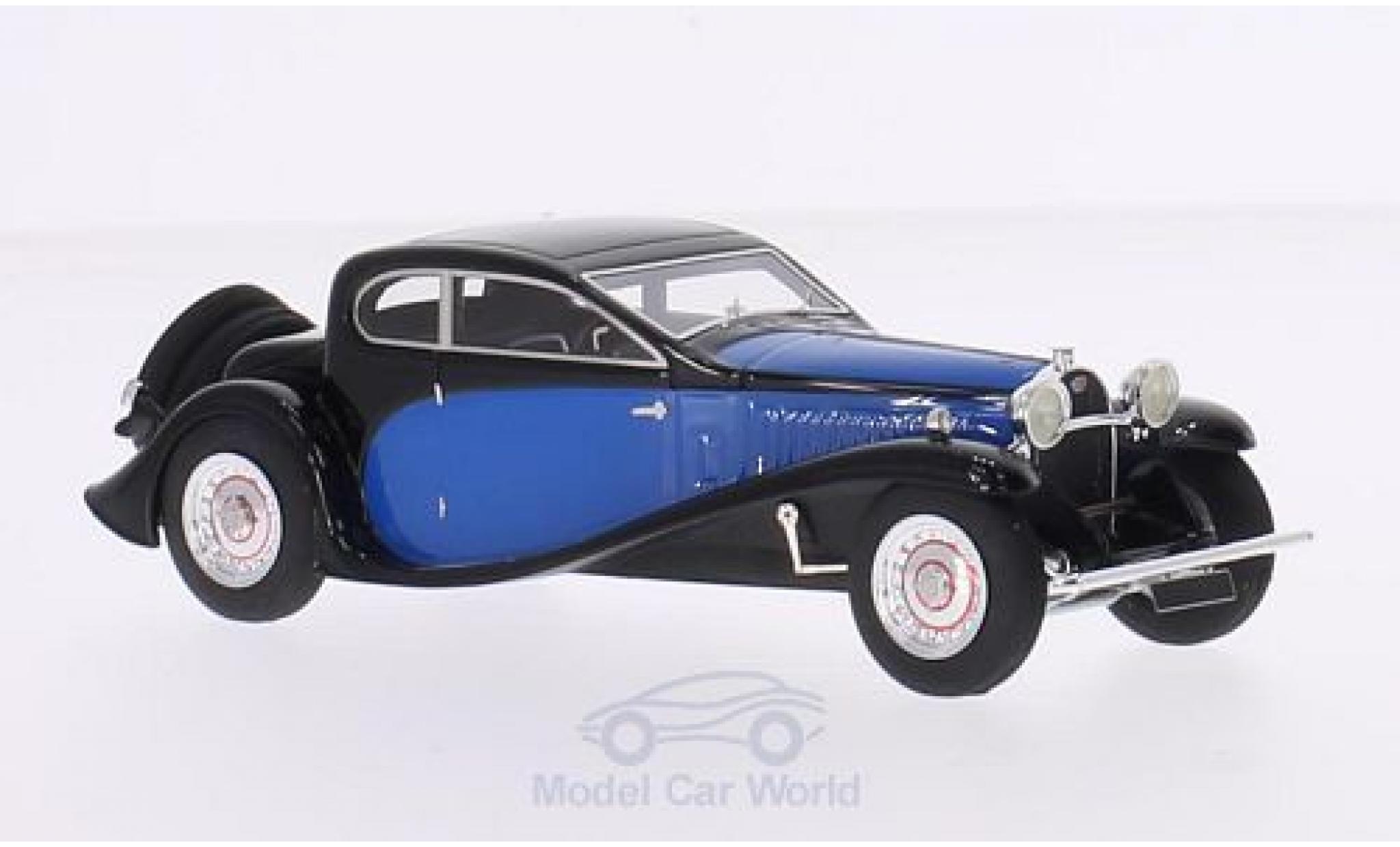 Bugatti 50 1/43 Look Smart Type T black/blue RHD 1930