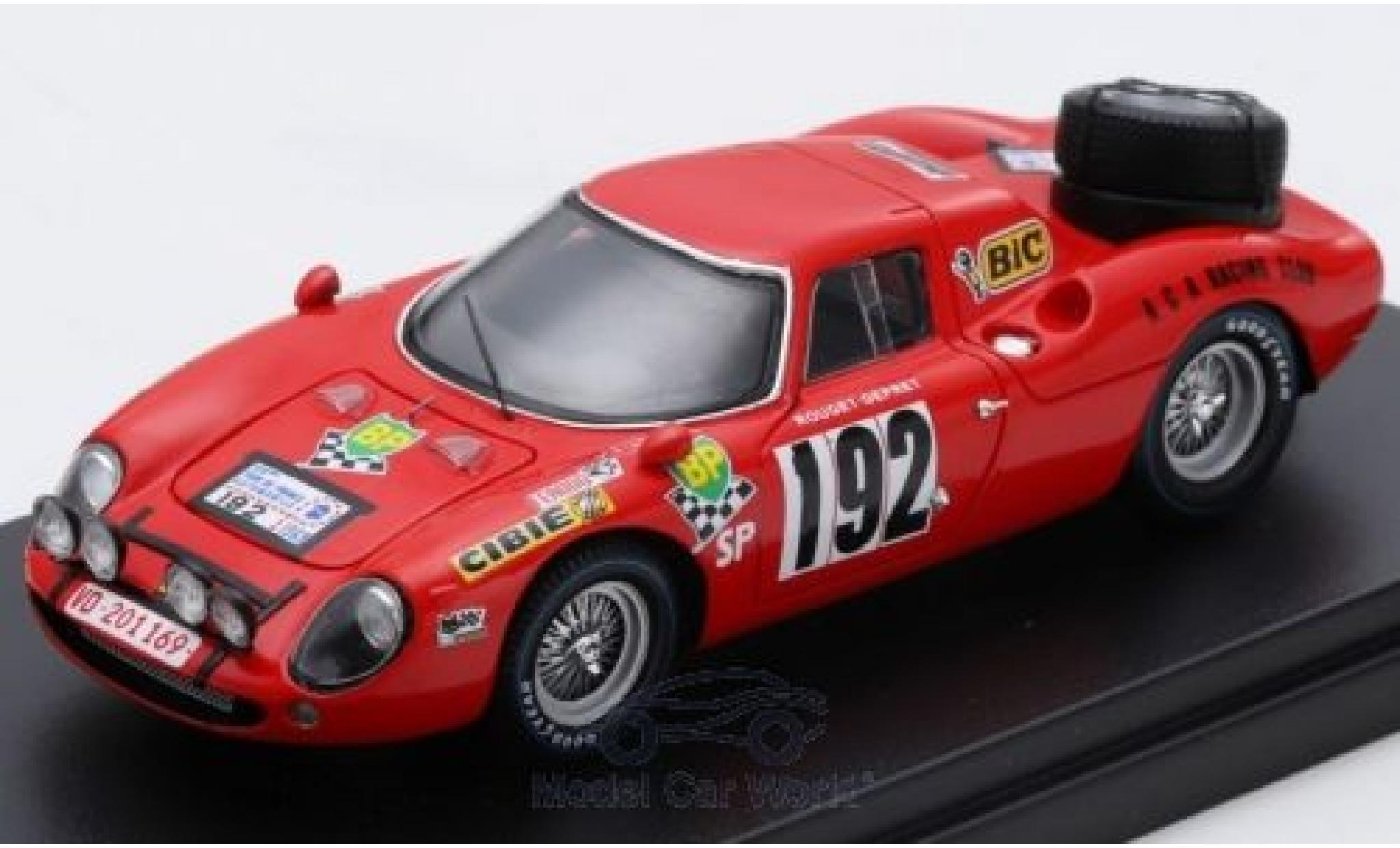 Ferrari 250 1/43 Look Smart LM No.192 Tour de France 1969 J.P.Rouget/J-C.Depret