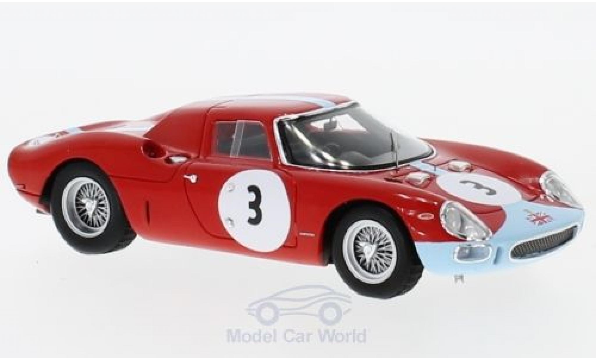 Ferrari 250 1/43 Look Smart LM RHD No.3 1000km Paris 1964 L.Scarfiotti/J.Stewart