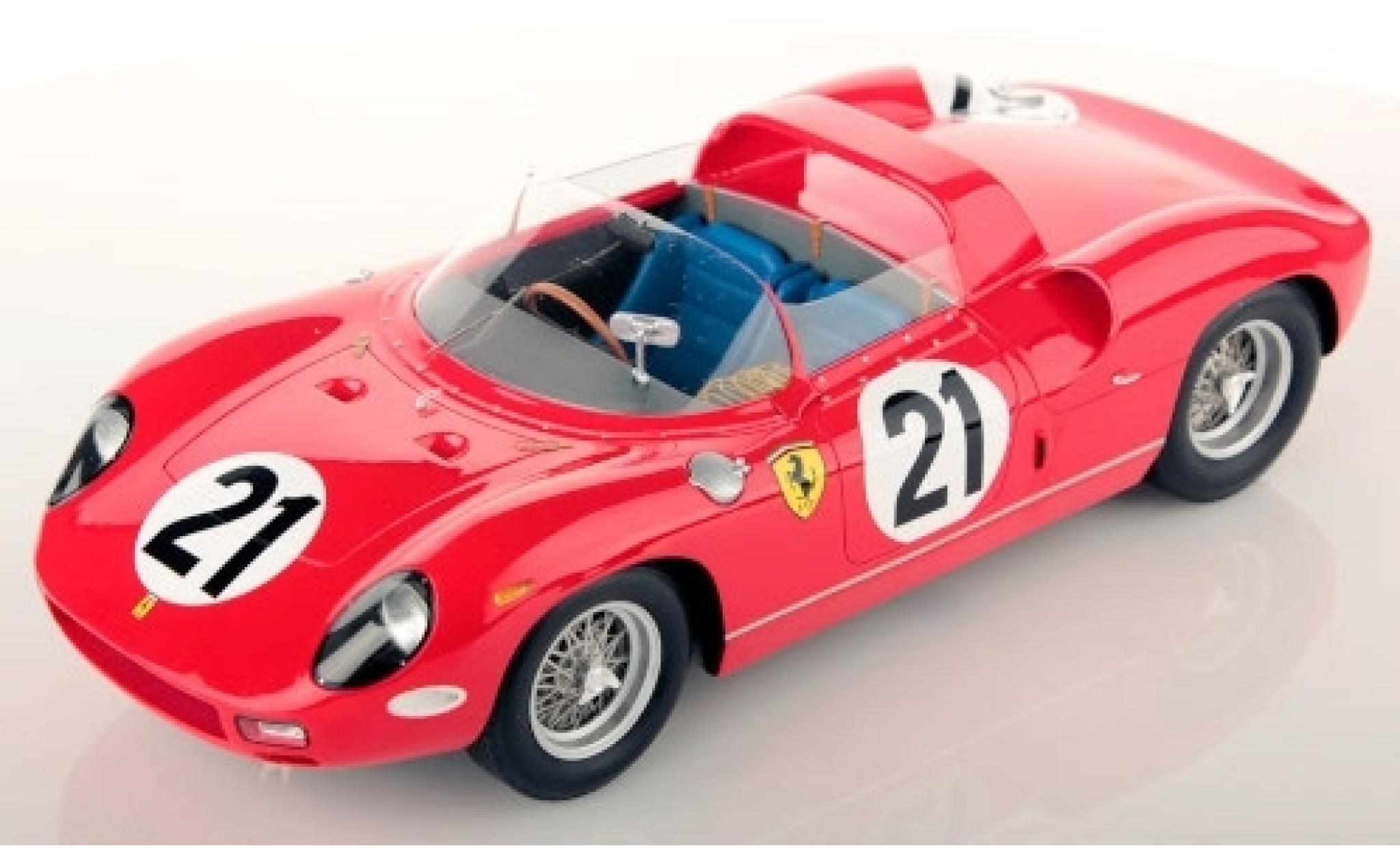 Ferrari 250 1/18 Look Smart P RHD No.21 Scuderia 24h Le Mans 1963 L.Scarfiotti/L.Bandini