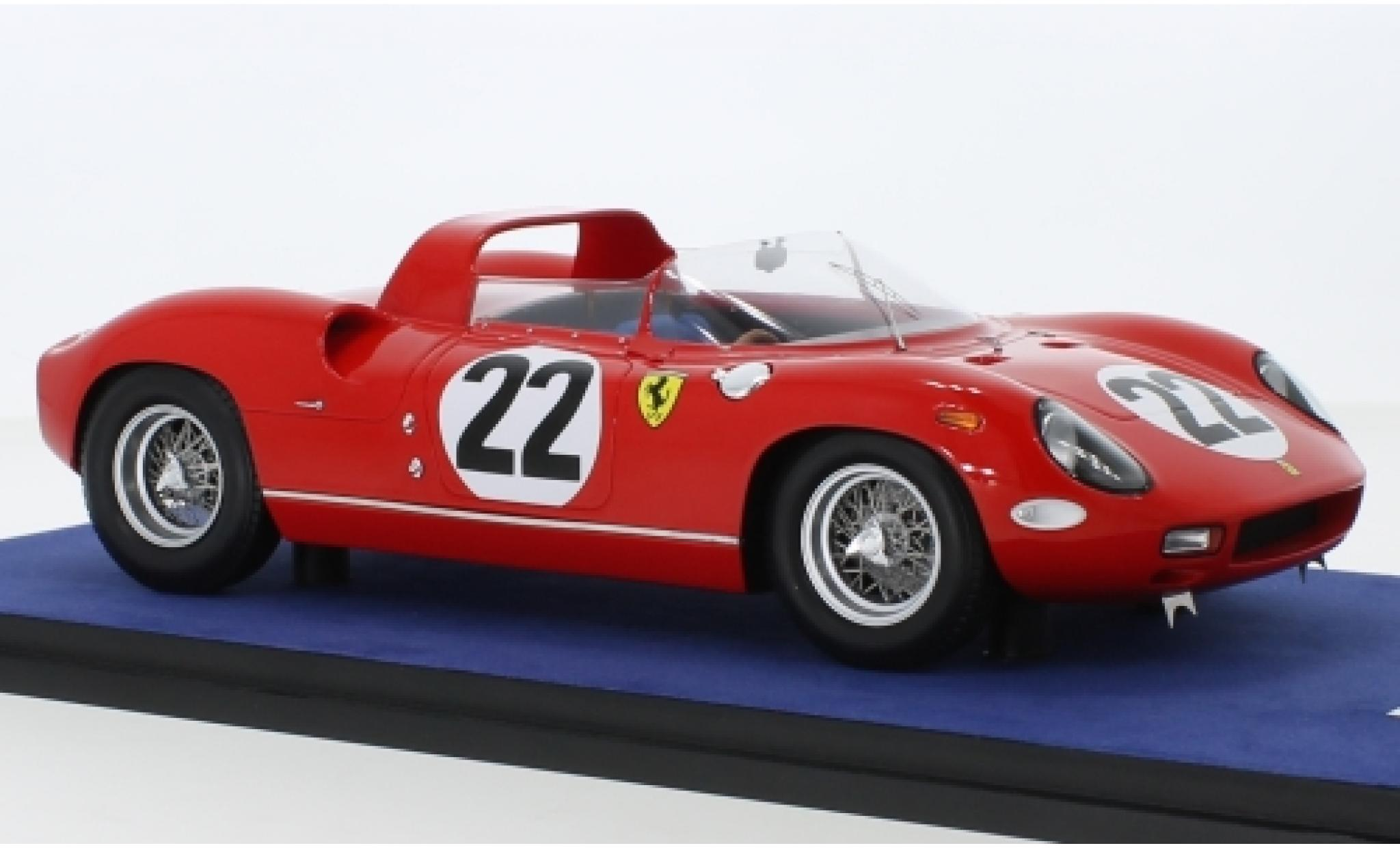 Ferrari 250 1/18 Look Smart P RHD No.22 24h Le Mans 1963 M.Parkes/U.Maglioli