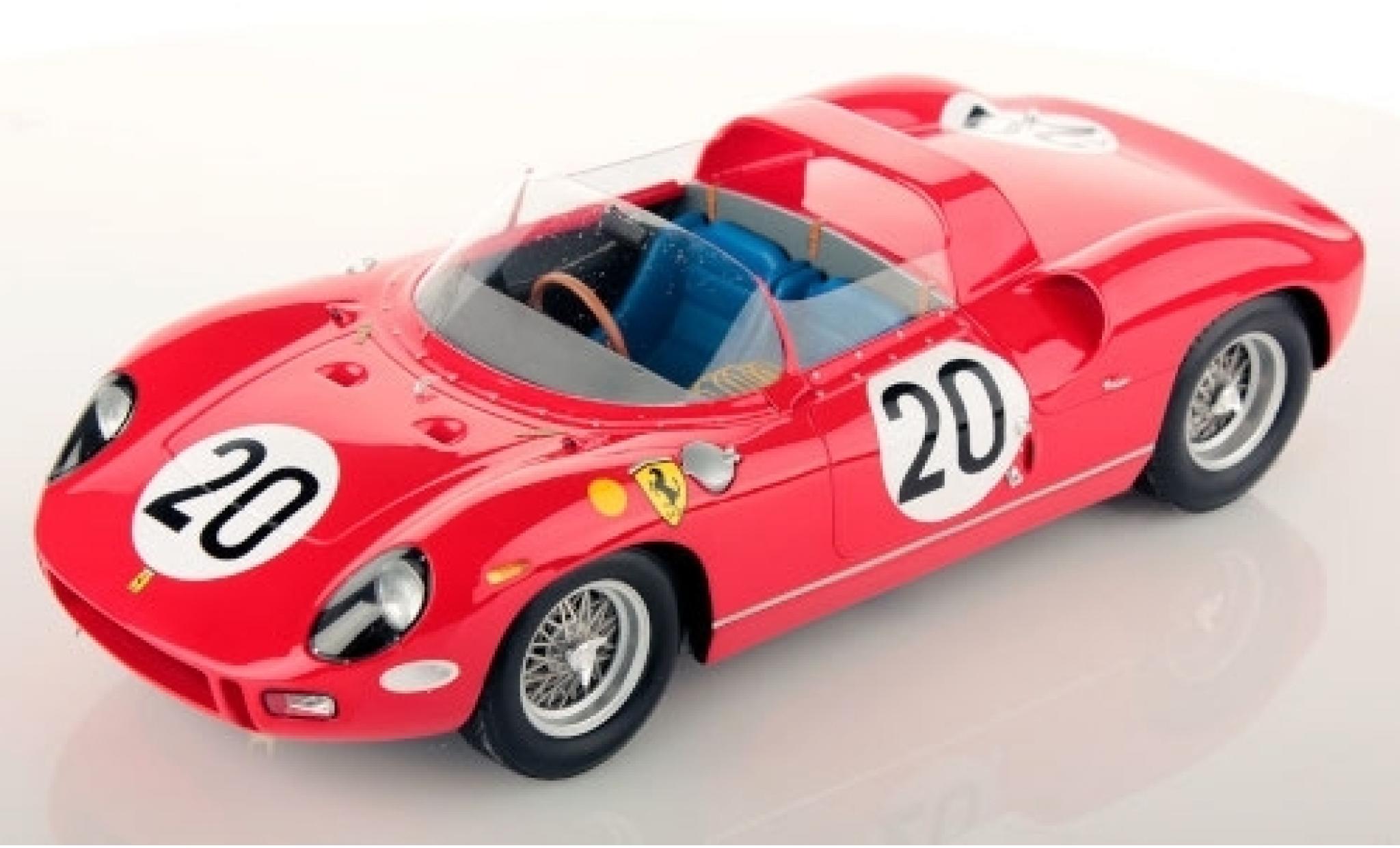 Ferrari 275 1/18 Look Smart P RHD No.20 Scuderia 24h Le Mans 1971 N.Vaccarella/J.Guichet