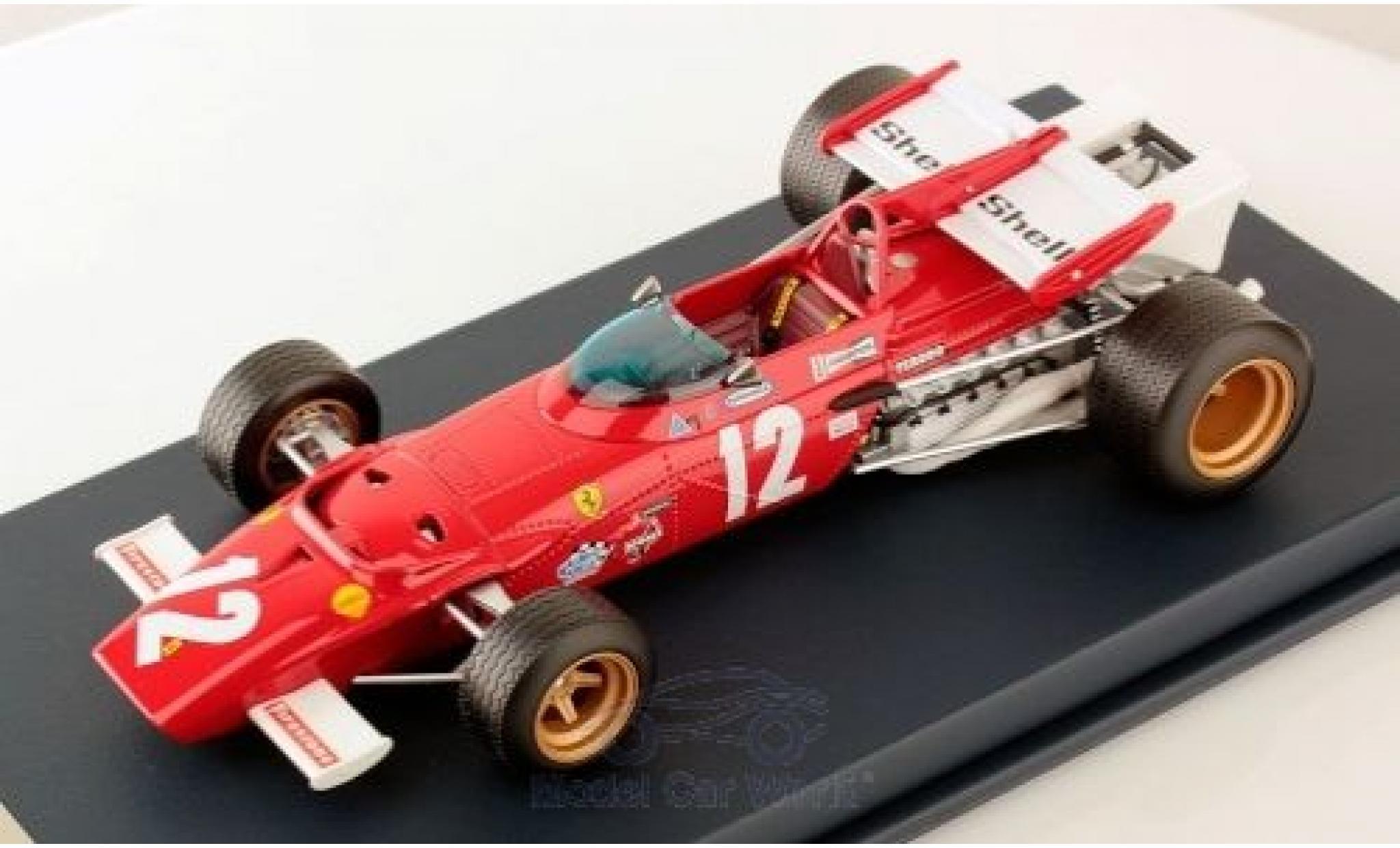 Ferrari 312 1/18 Look Smart B No.12 Formel 1 GP Österreich 1970 J.Ickx