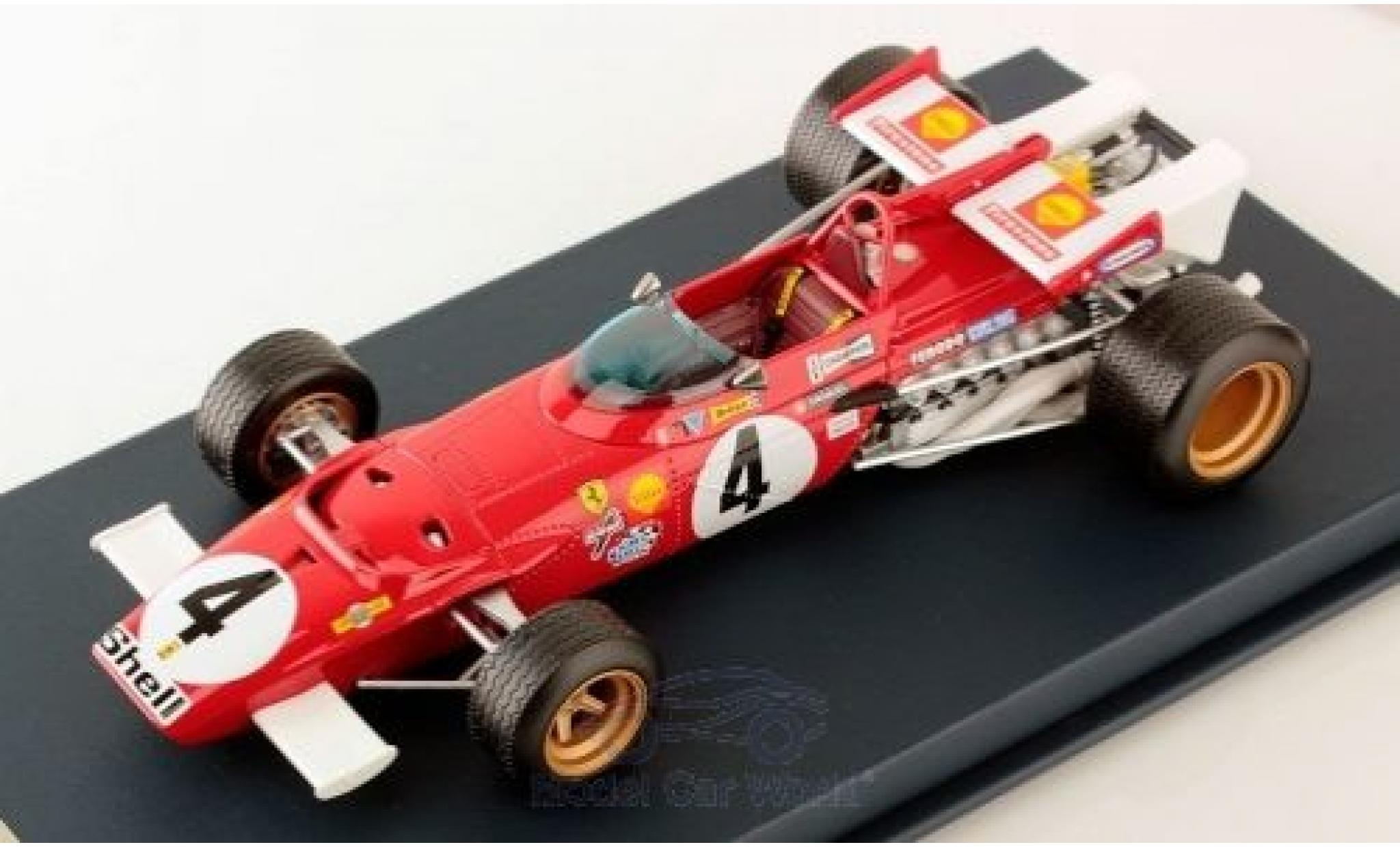 Ferrari 312 1/18 Look Smart B No.4 Formel 1 GP Italien 1970 C.Regazzoni
