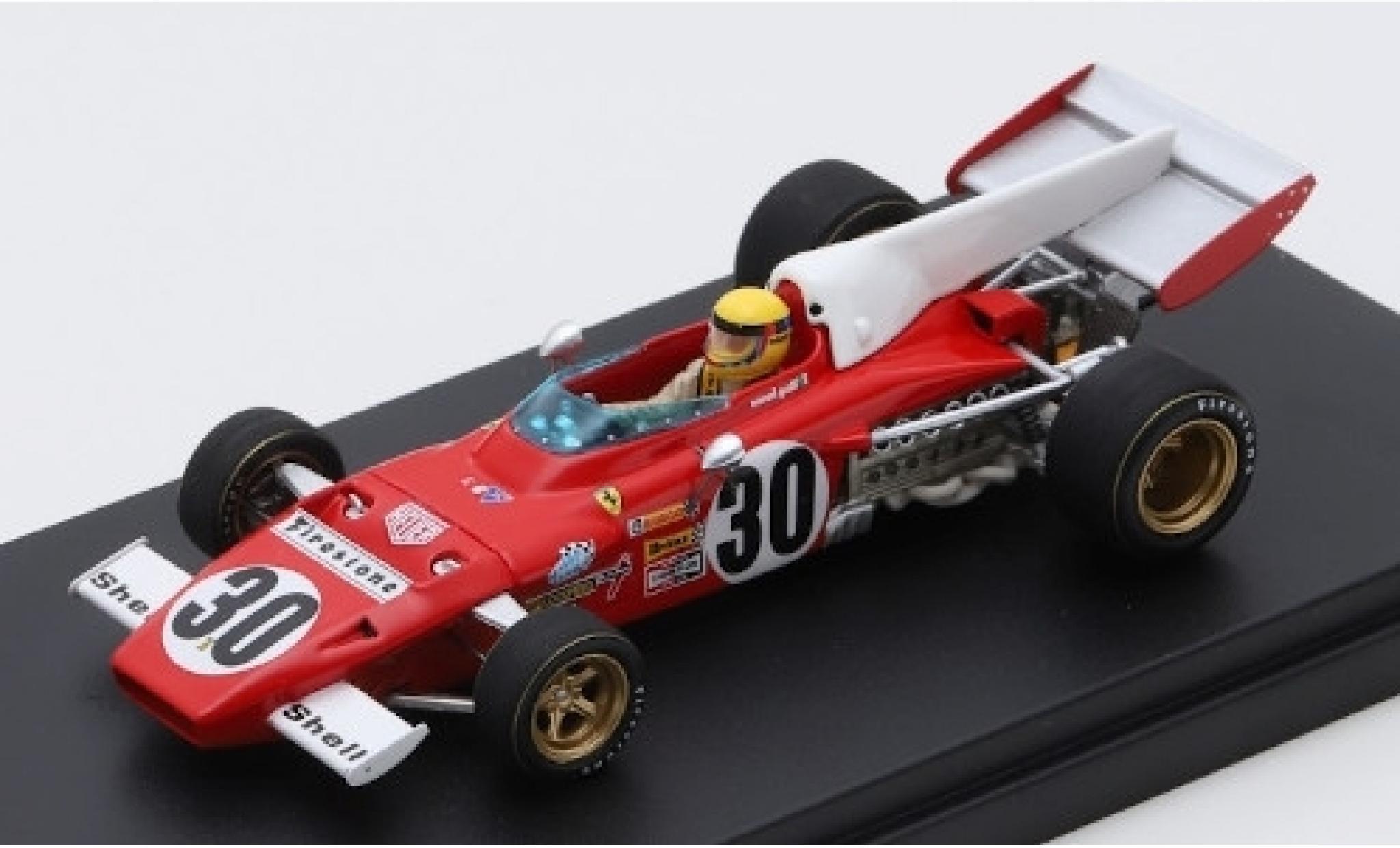 Ferrari 312 1/43 Look Smart B2 No.30 Scuderia Formel 1 GP Frankreich 1972 N.Galli