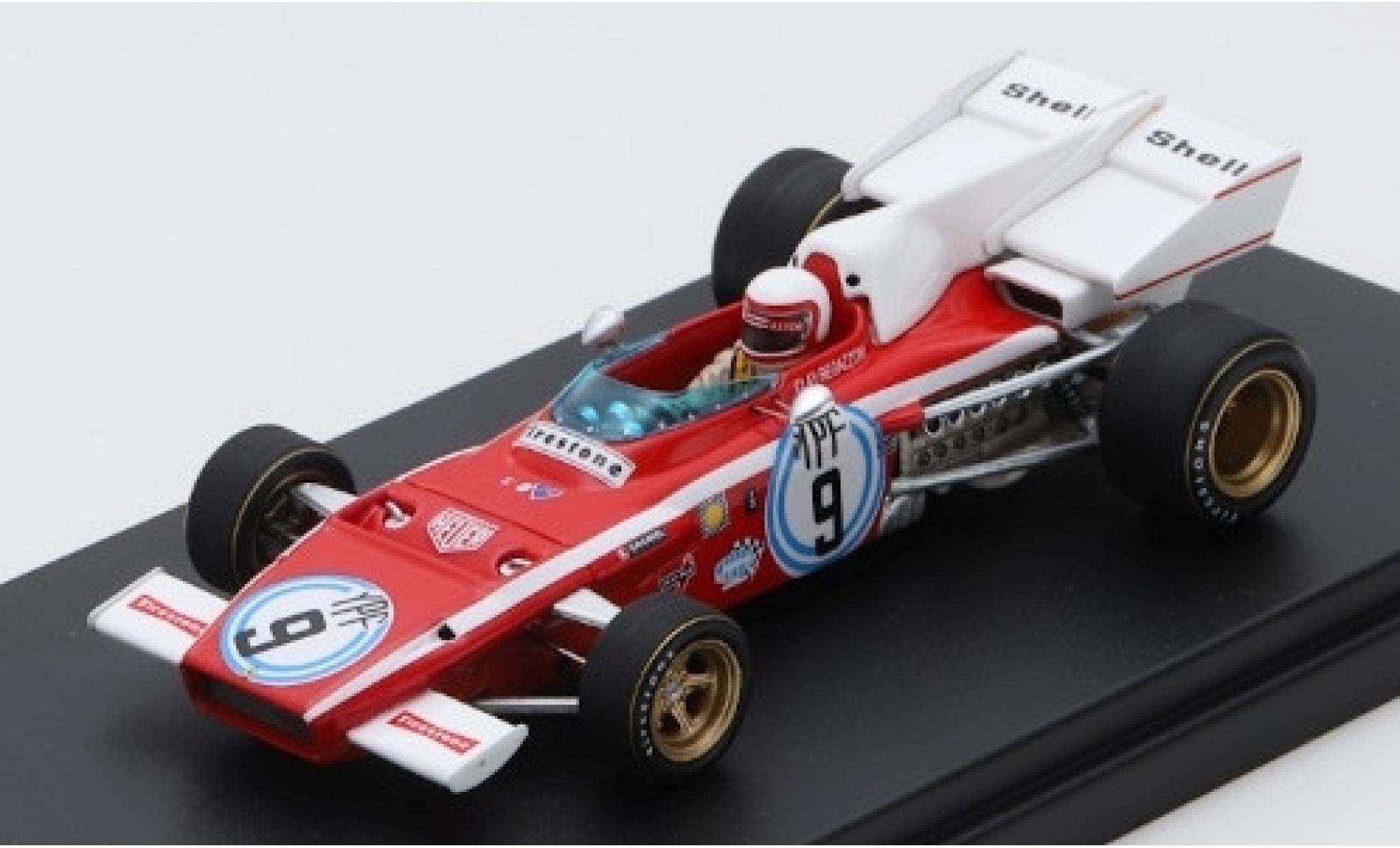 Ferrari 312 1/43 Look Smart B2 No.9 Scuderia Formel 1 GP Argentinien 1972 C.Regazzoni
