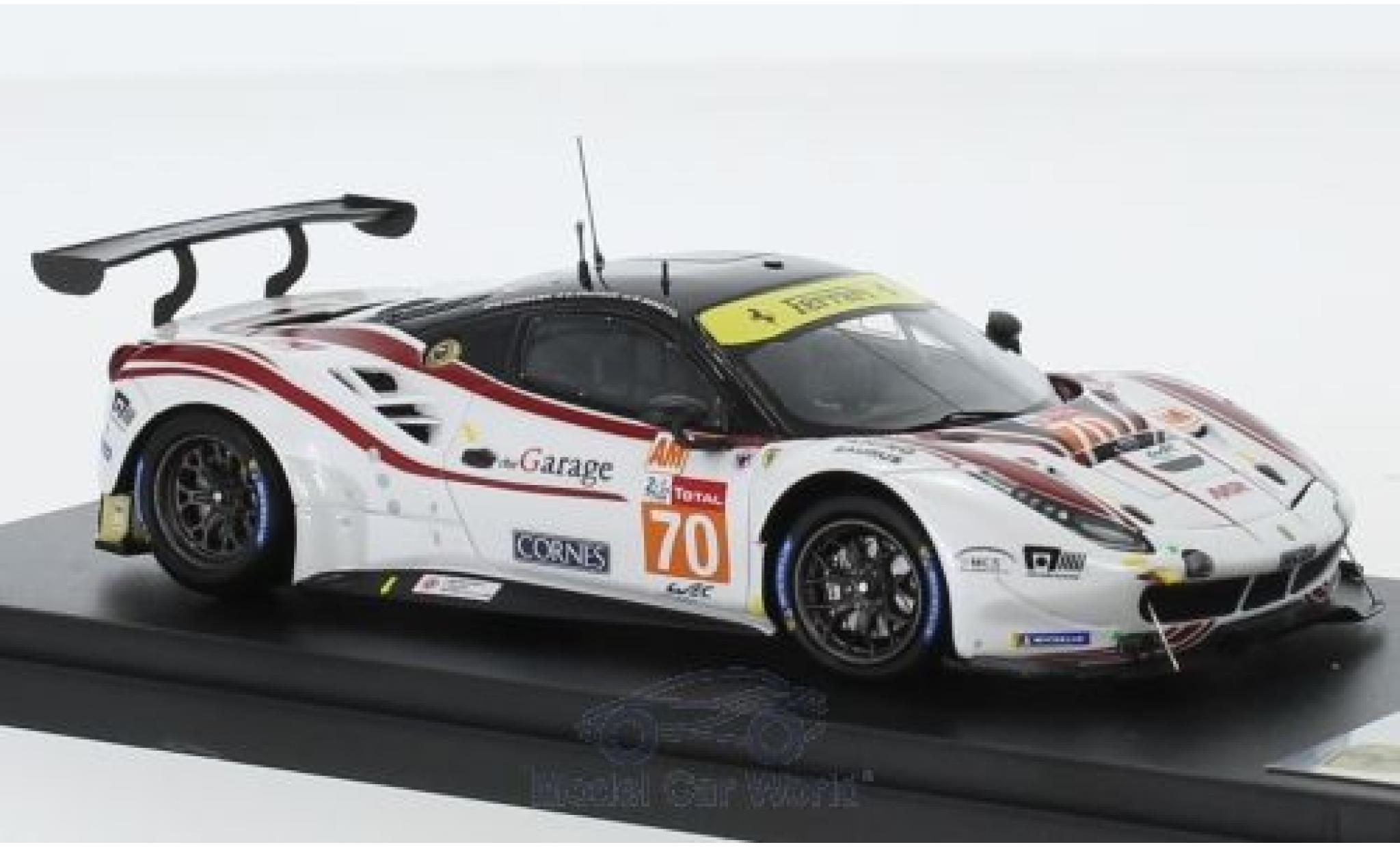 Ferrari 488 1/43 Look Smart GTE No.70 MR Racing 24h Le Mans 2018 M. Ishikawa/O.Beretta/E.Cheever