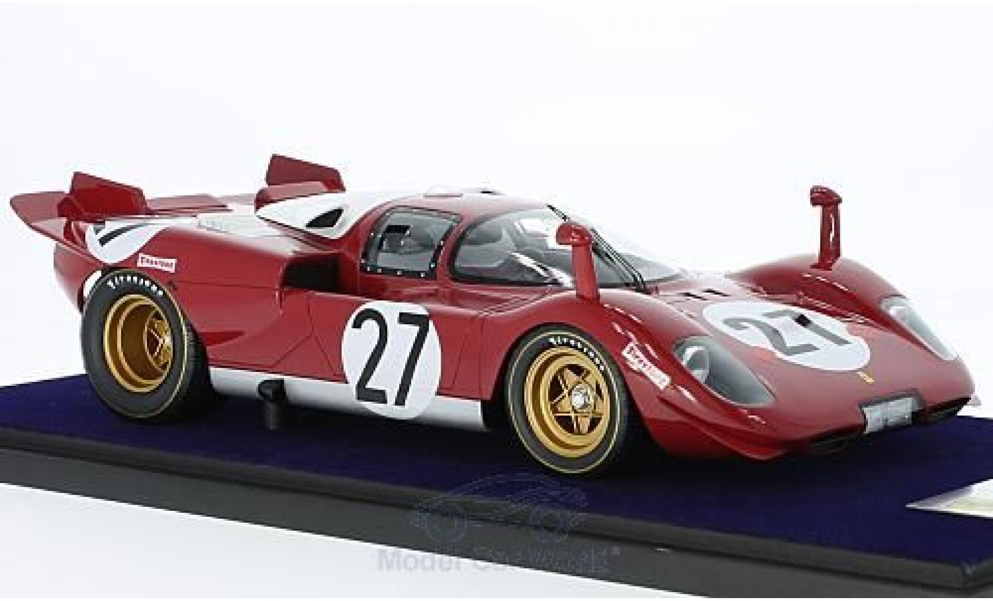 Ferrari 512 1/18 Look Smart S No.27 Scuderia 24h Daytona 1970 J.Ickx/P.Schetty