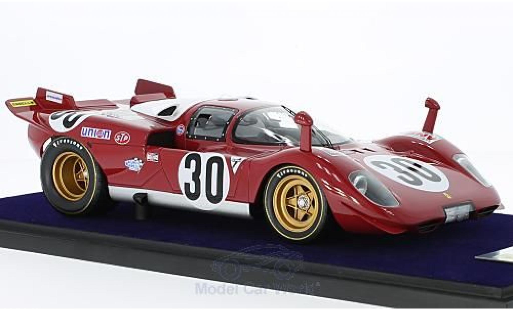 Ferrari 512 1/18 Look Smart S No.30 Scuderia Piccho Rosso 24h Daytona 1970 C.Manfredini/G.Moretti
