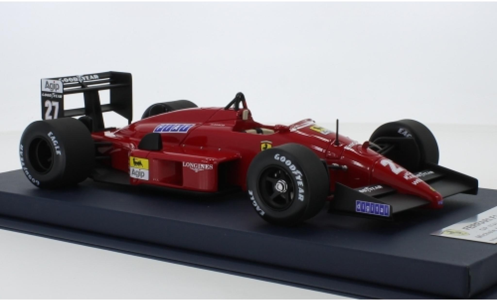 Ferrari F1 1/18 Look Smart -87/88 No.27 Formel 1 GP Italien 1988 M.Alboreto