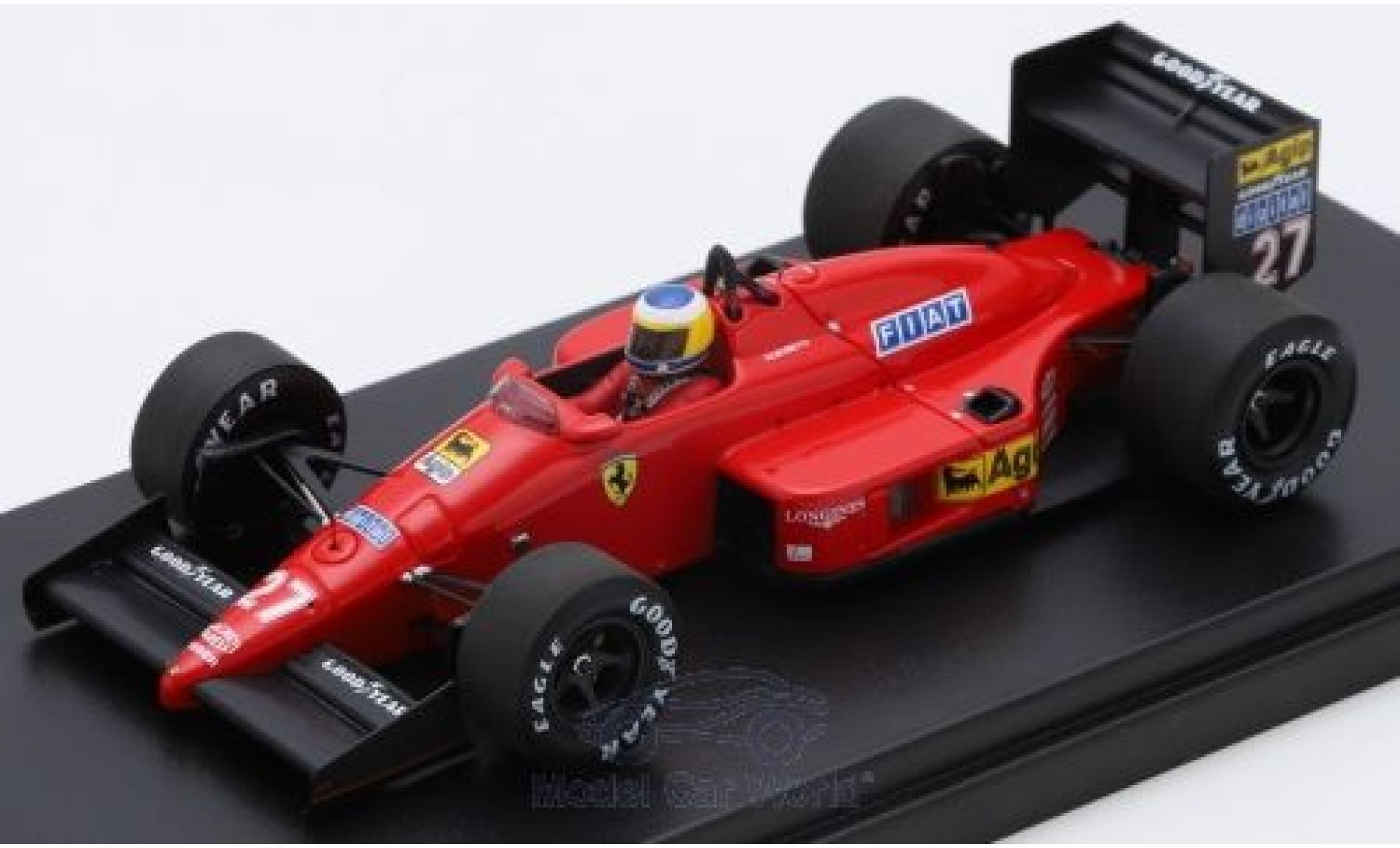 Ferrari F1 1/43 Look Smart /87 No.27 Scuderia Formel 1 GP Monaco 1987 M.Alboreto