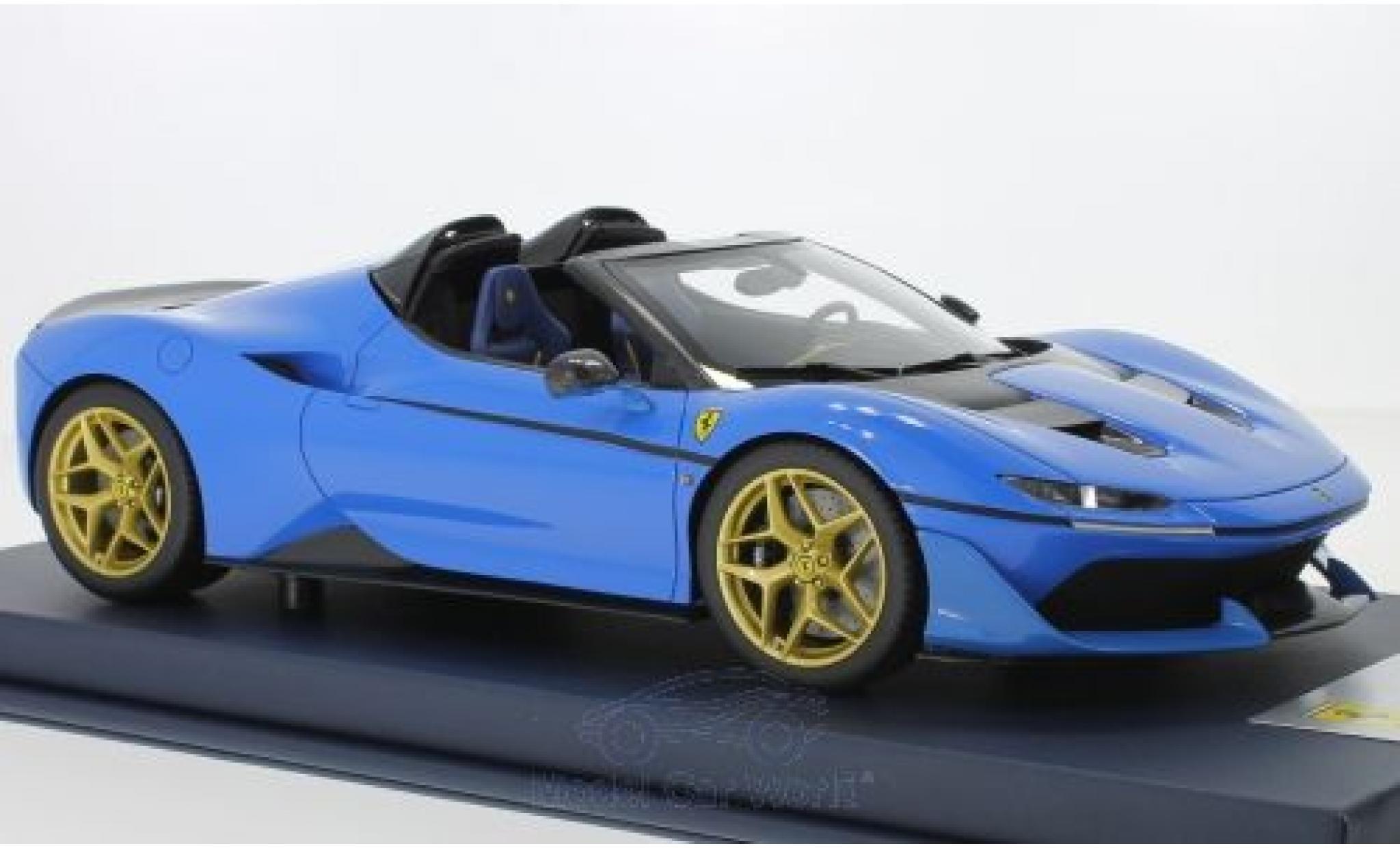 Ferrari J50 1/18 Look Smart bleue 2016