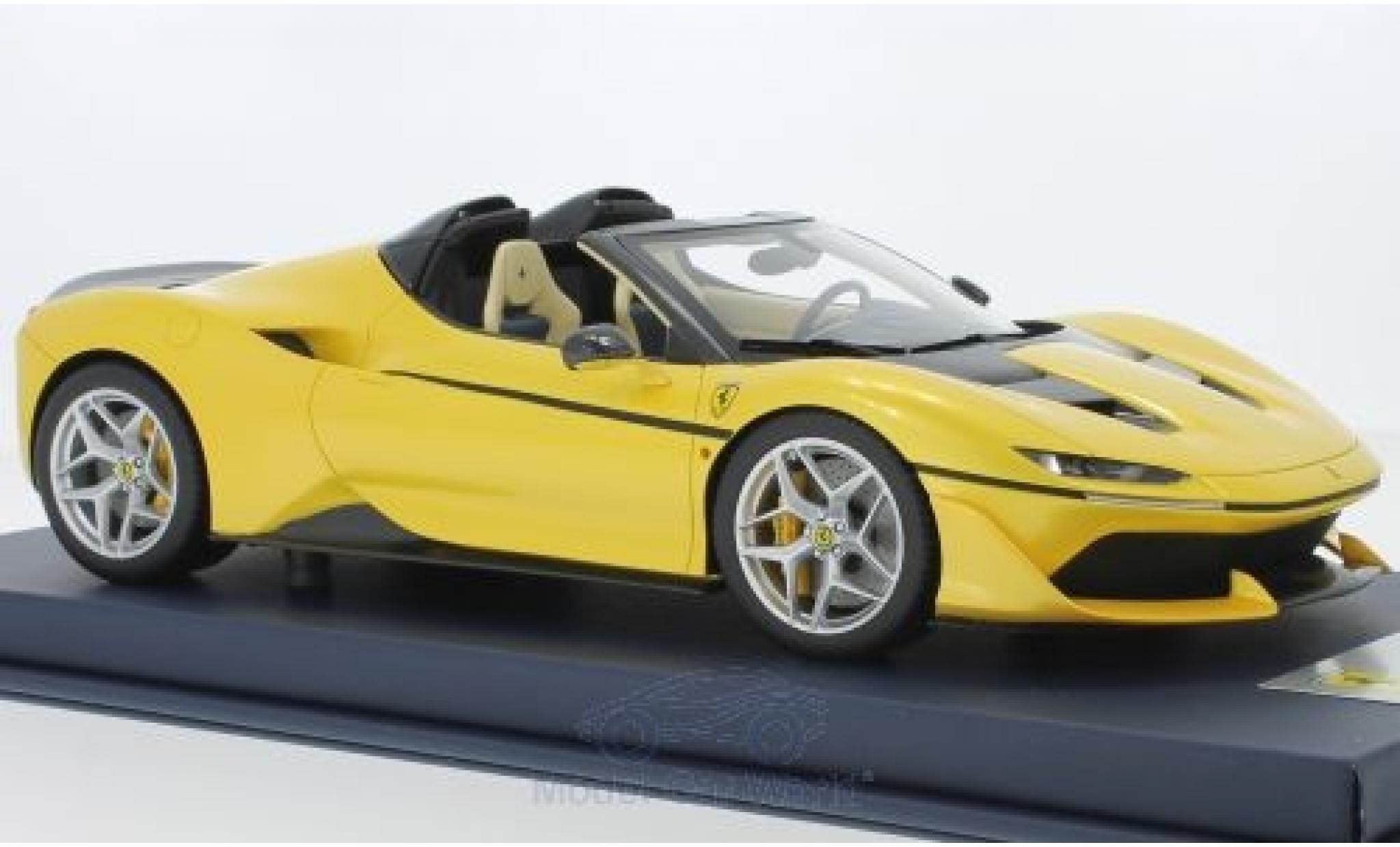 Ferrari J50 1/18 Look Smart metallise jaune