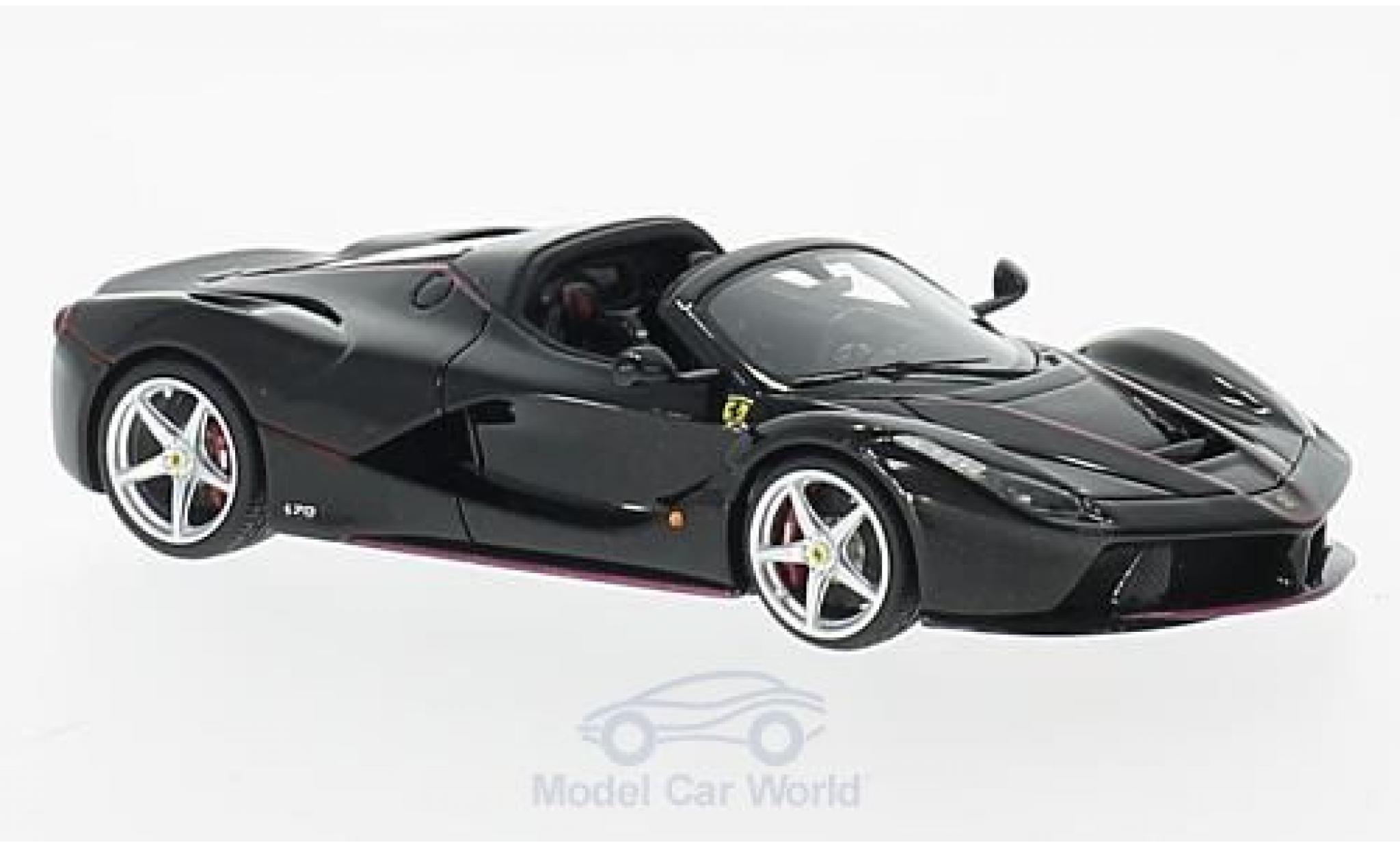 Ferrari LaFerrari 1/43 Look Smart La Aperta black Paris Motorshow 2016