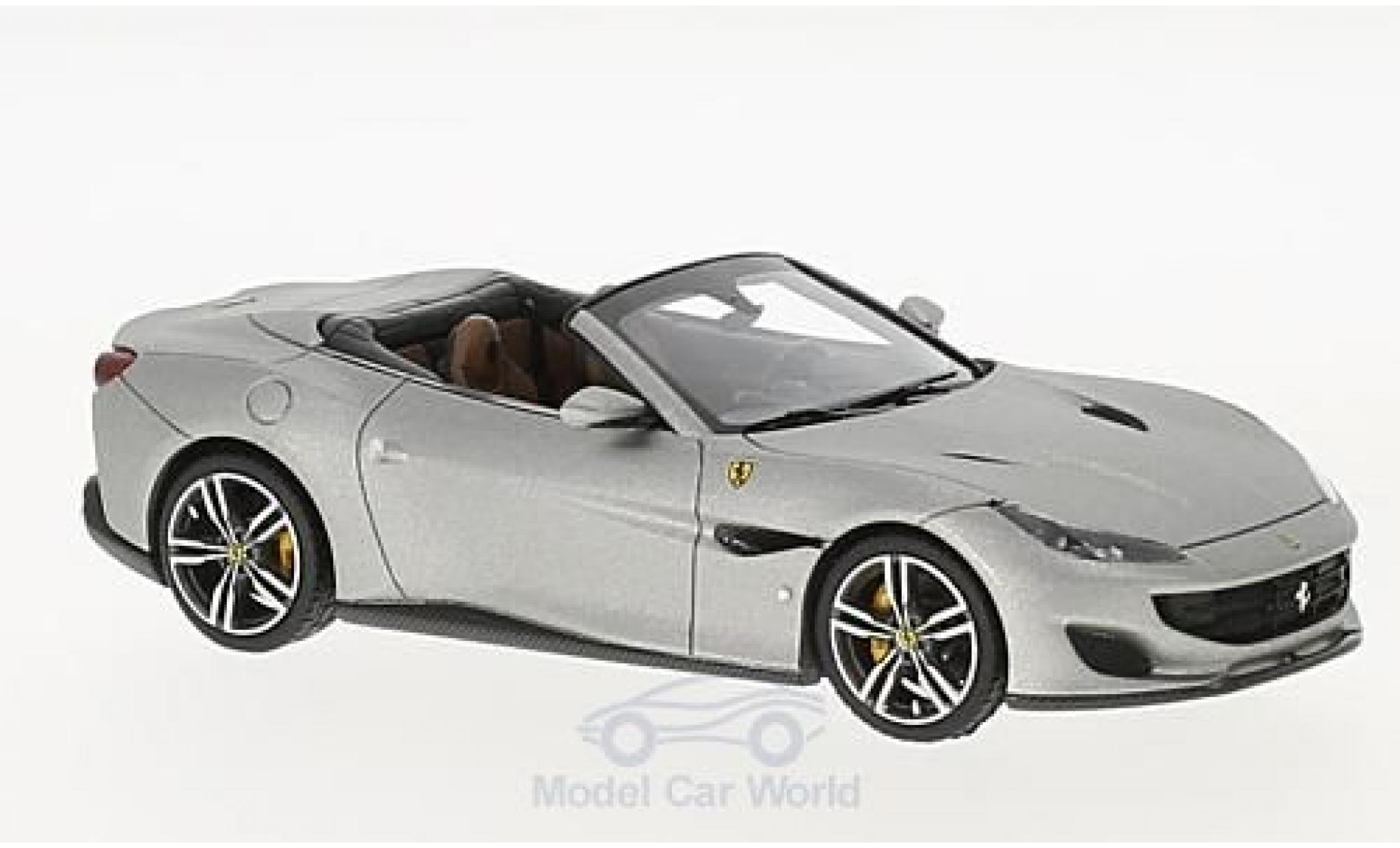 Ferrari Portofino 1/43 Look Smart matt-aluminium