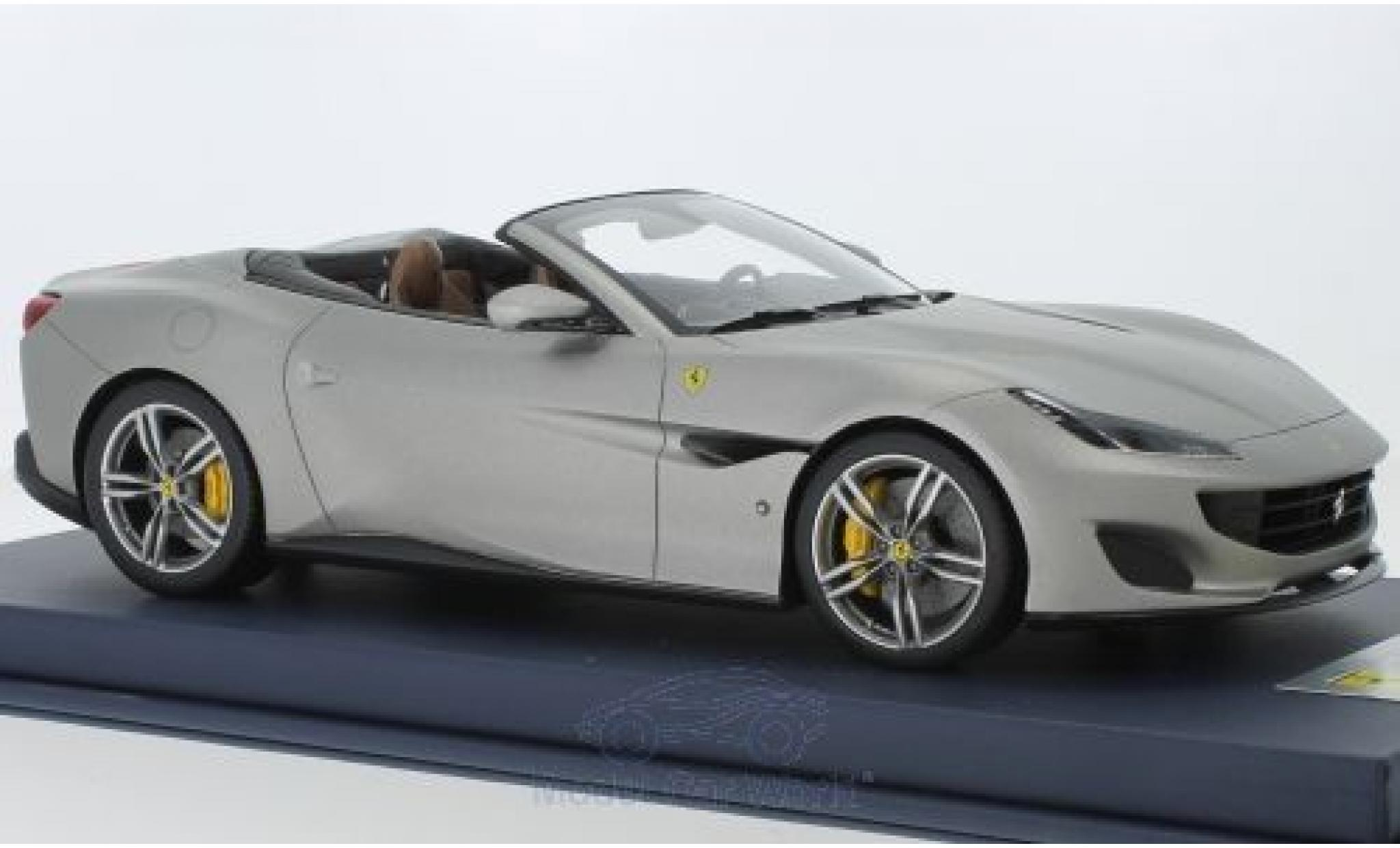 Ferrari Portofino 1/18 Look Smart matt-grey 2018